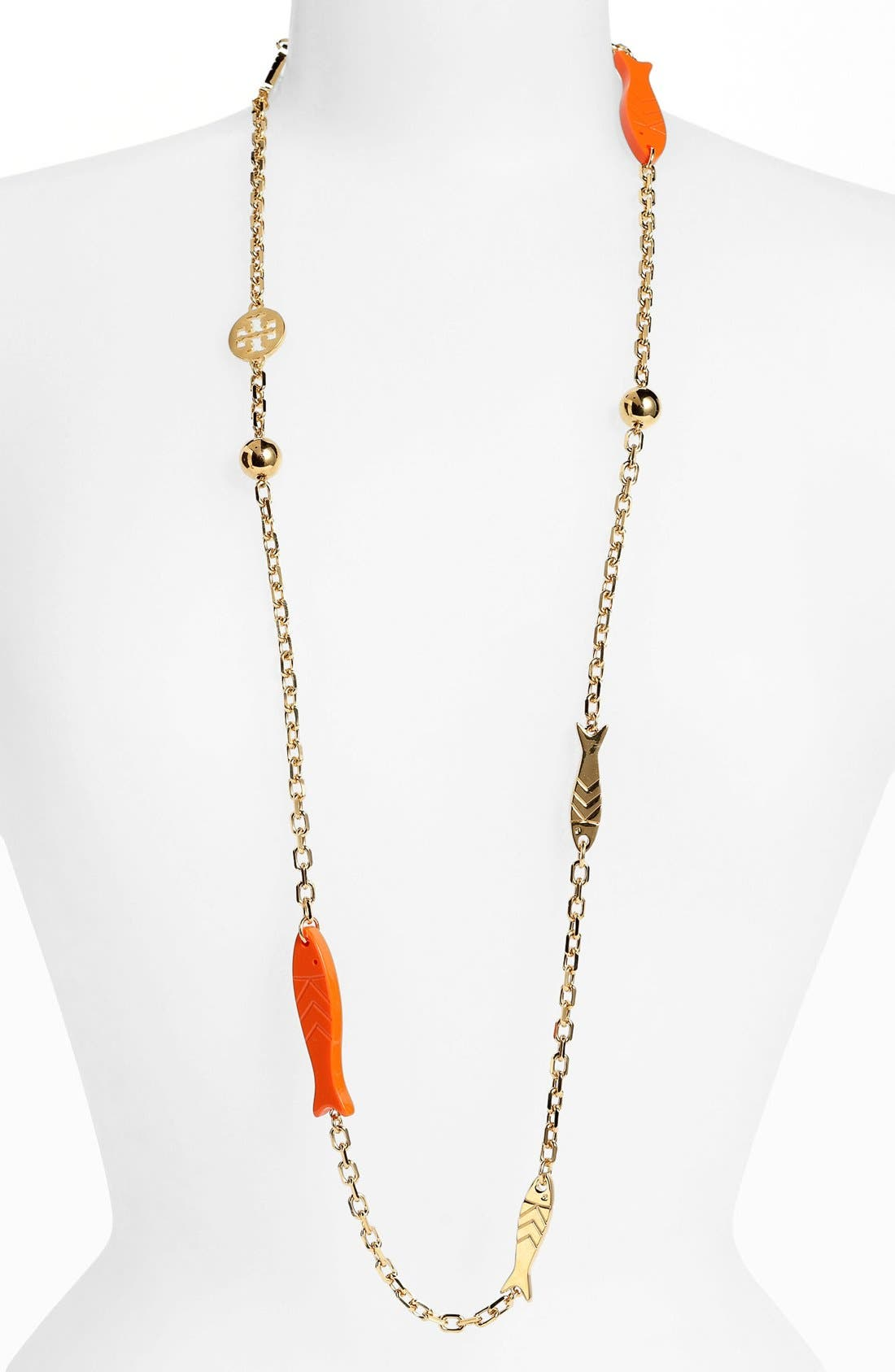 Alternate Image 2  - Tory Burch 'Emerson' Long Station Necklace