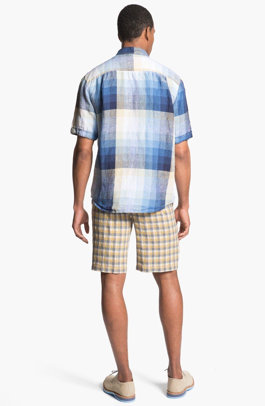 Alternate Image 5  - Tommy Bahama 'Pacific Breezer' Short Sleeve Linen Sport Shirt