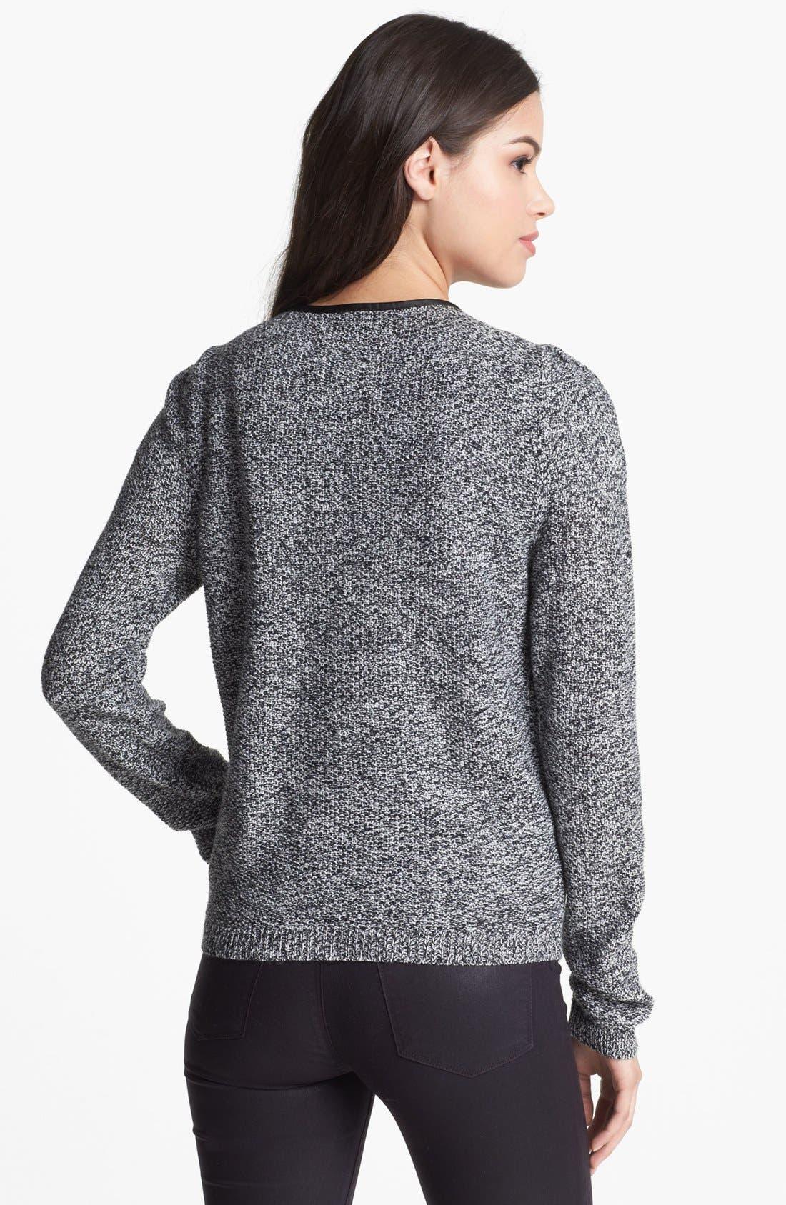 Alternate Image 2  - Trouvé Marled Baseball Sweater
