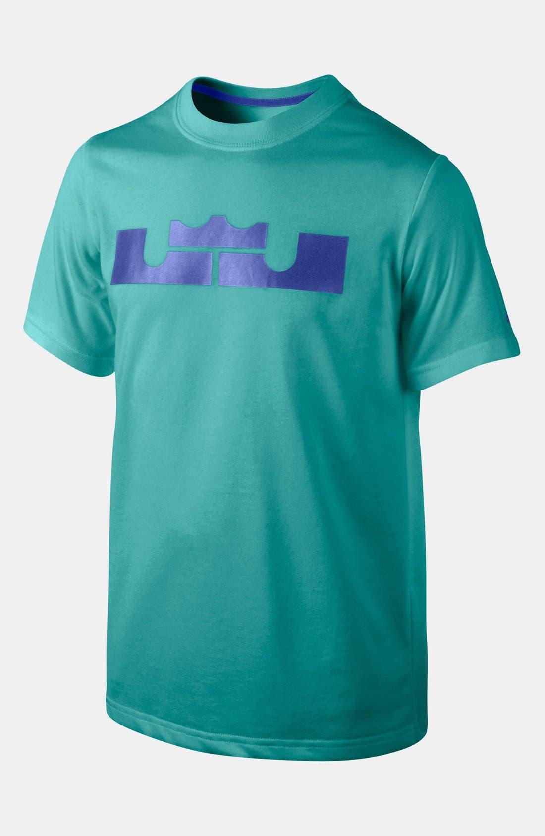 Alternate Image 1 Selected - Nike 'LeBron Logo' T-Shirt (Big Boys)