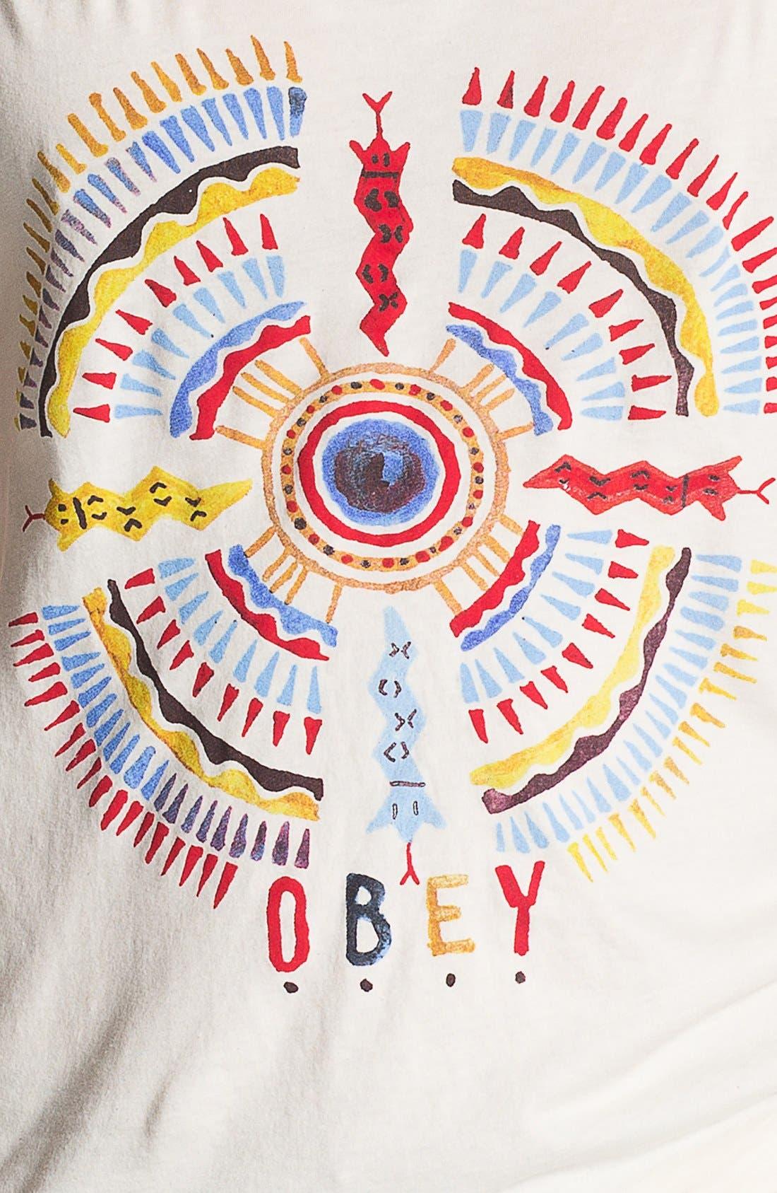 Alternate Image 3  - Obey 'Sandpearl' Print Tank Top