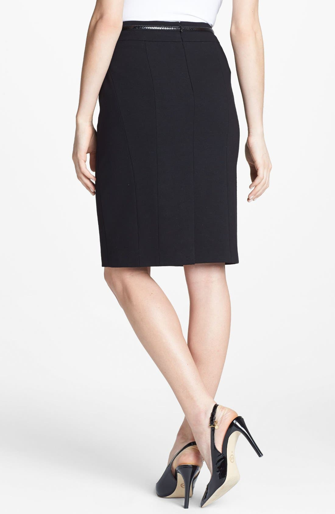 Alternate Image 2  - Classiques Entier® Italian Ponte Skirt