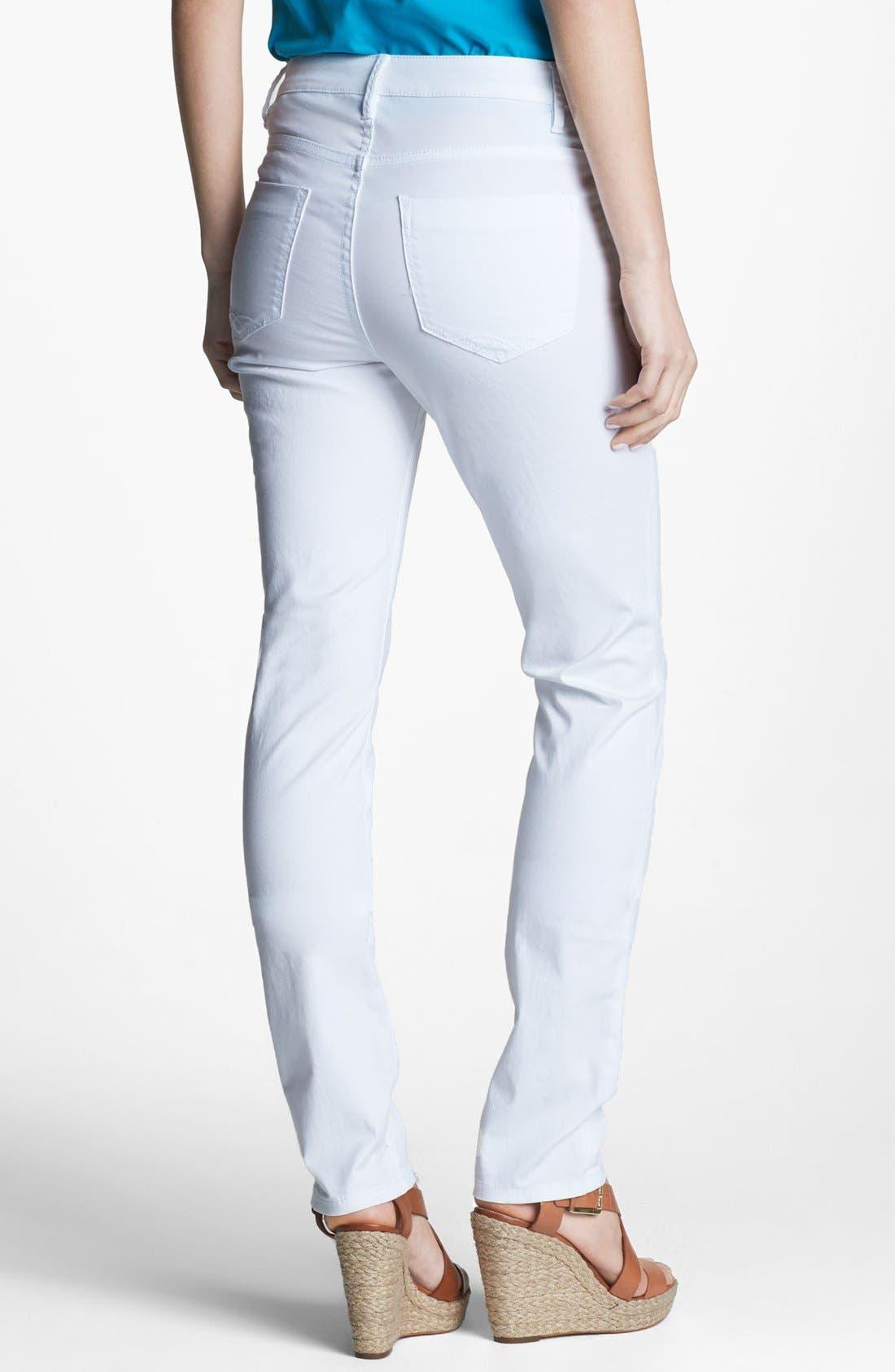 Alternate Image 2  - Christopher Blue 'The Secret Lillian' Pull-On Skinny Jeans