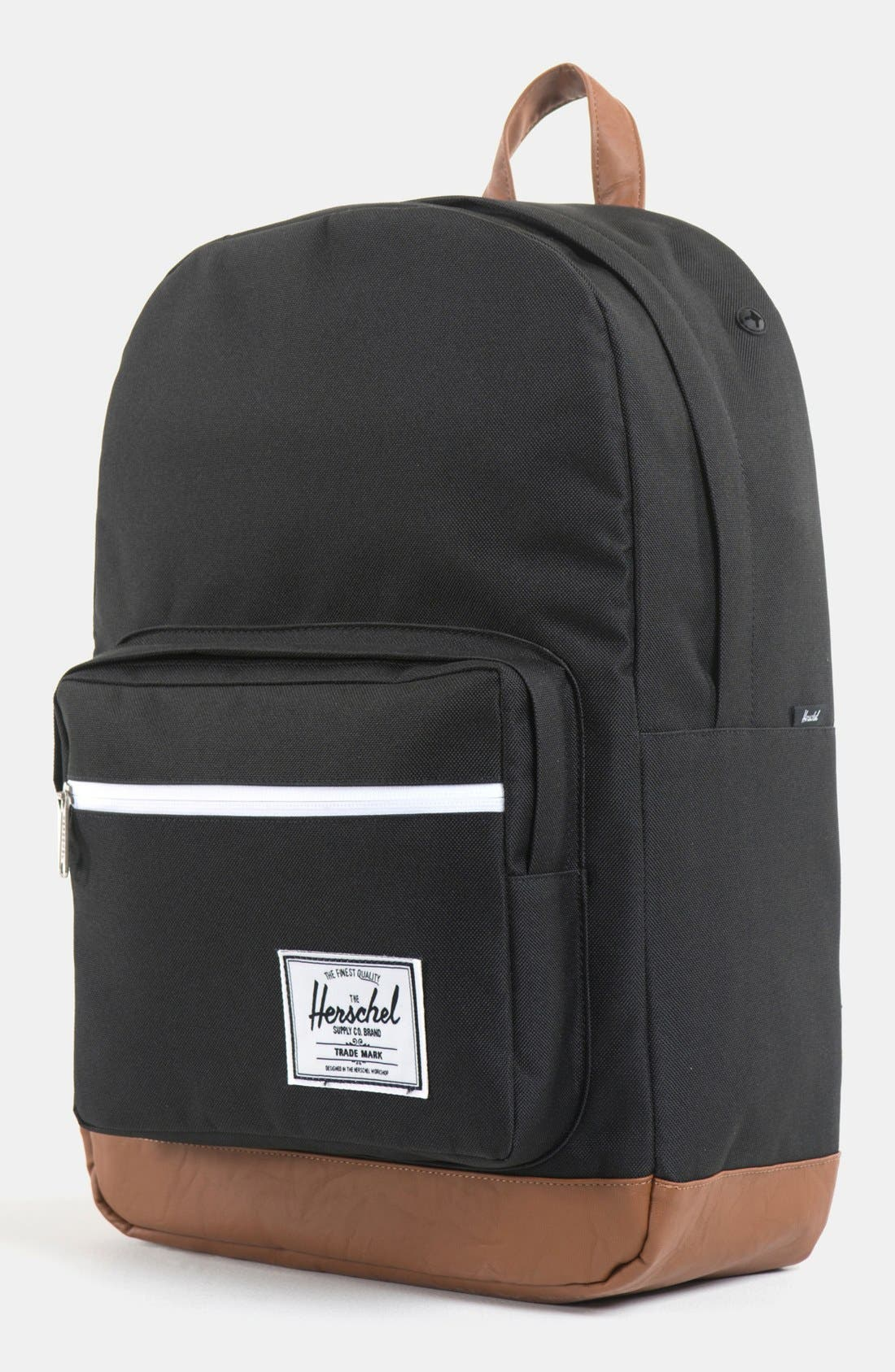 Alternate Image 1 Selected - Herschel Supply Co. 'Pop Quiz' Suede Trim Backpack