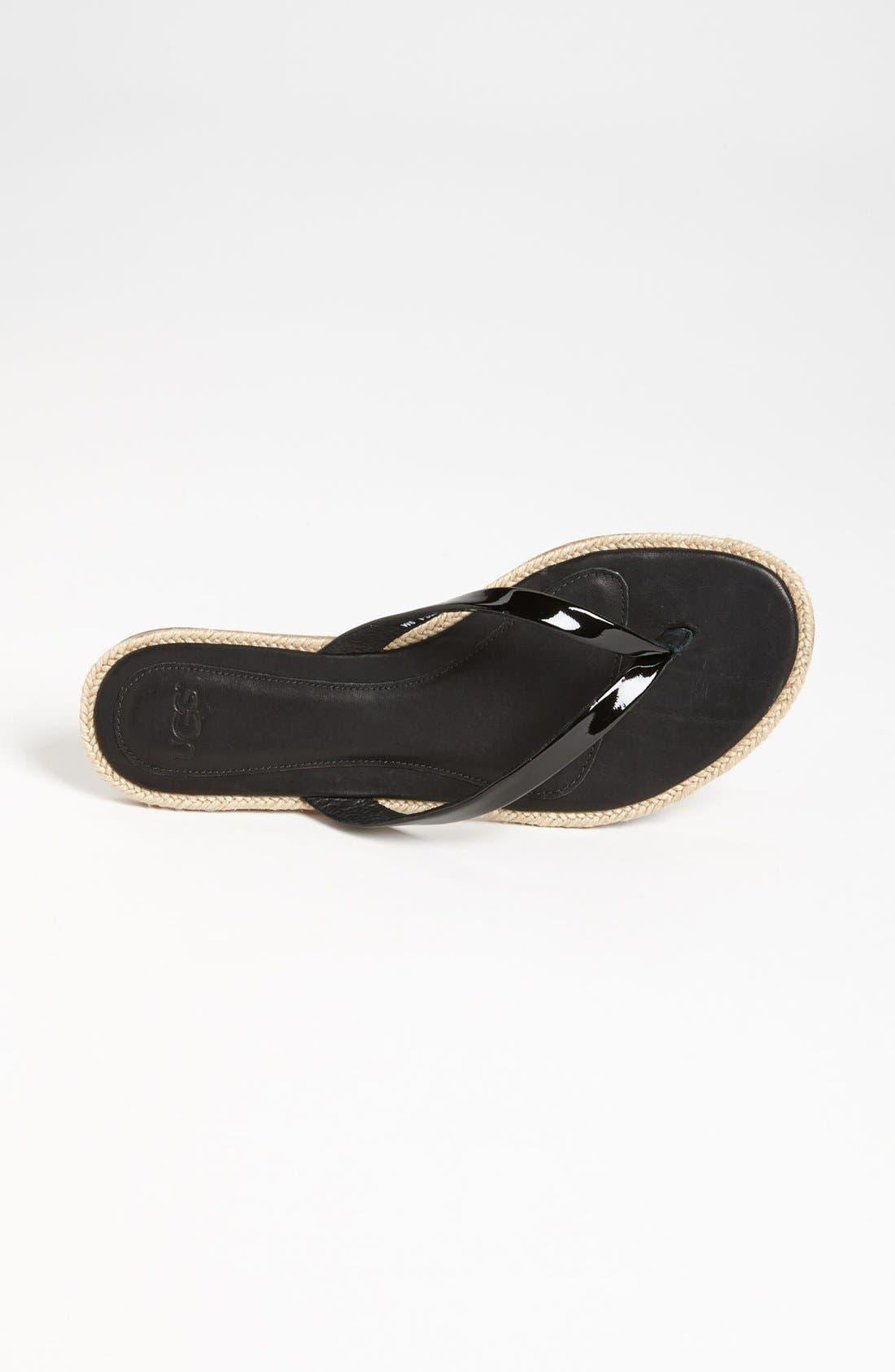 Alternate Image 3  - UGG® Australia 'Allaria' Flip Flop (Women)