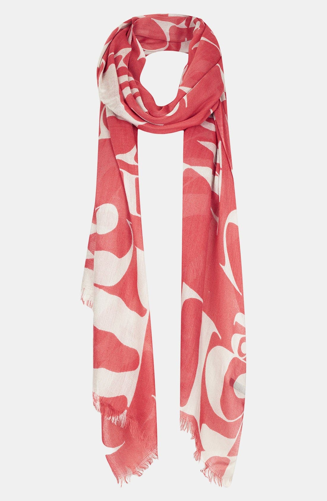 Alternate Image 1 Selected - Topshop 'Abstract Letter' Scarf