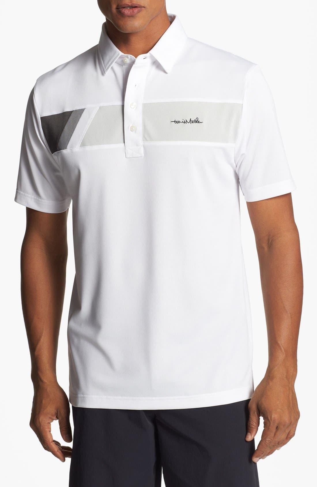 Alternate Image 1 Selected - Travis Mathew Regular Fit Golf Polo