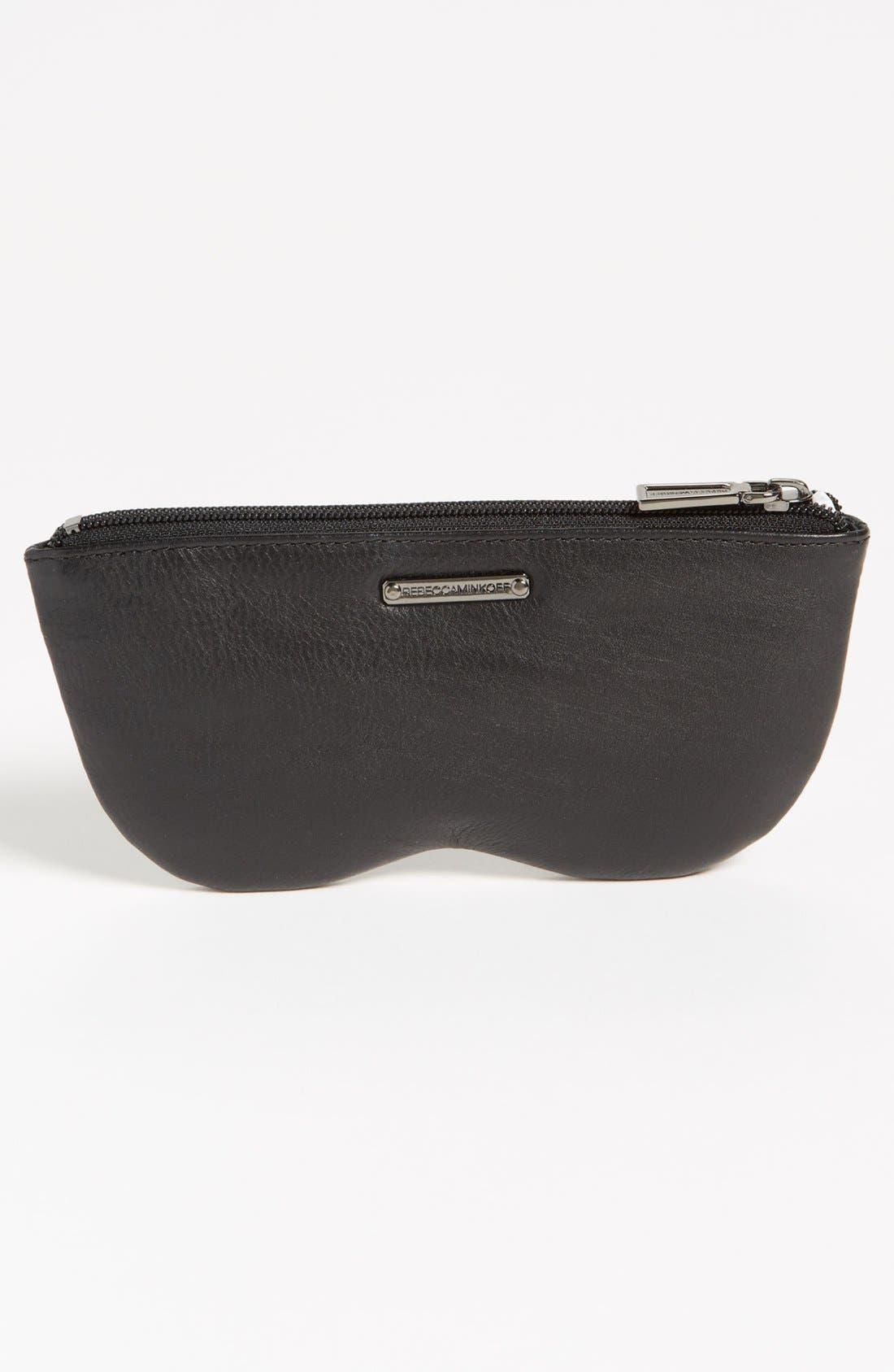 Alternate Image 4  - Rebecca Minkoff 'Sun Specs' Leather Sunglasses Case