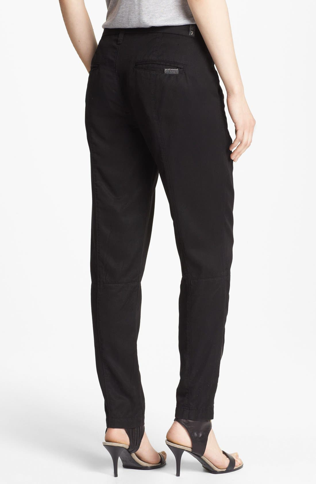 Alternate Image 2  - 7 For All Mankind® Twill Pants