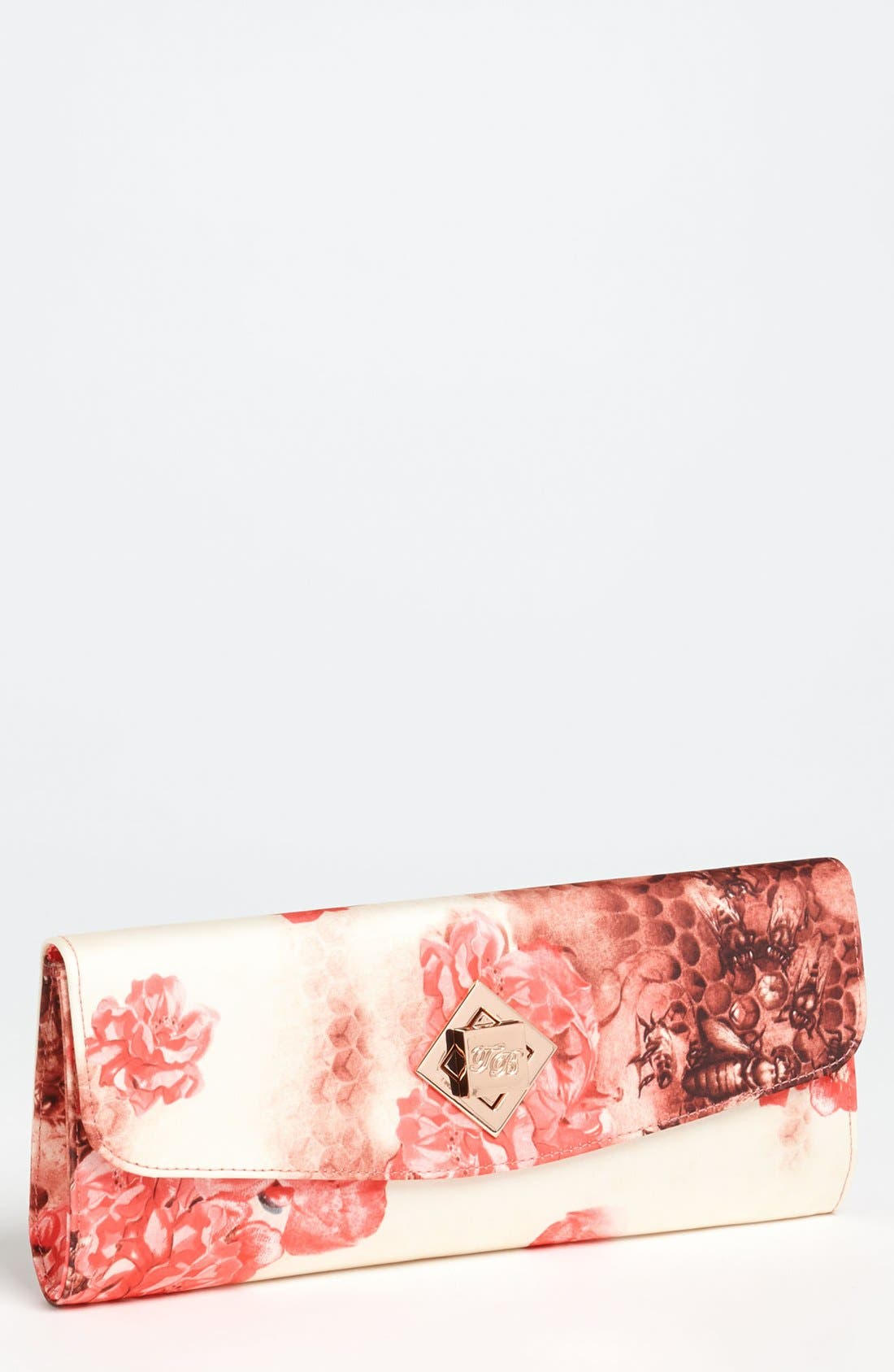 Main Image - Ted Baker London 'Busy Bee' Twist Lock Clutch