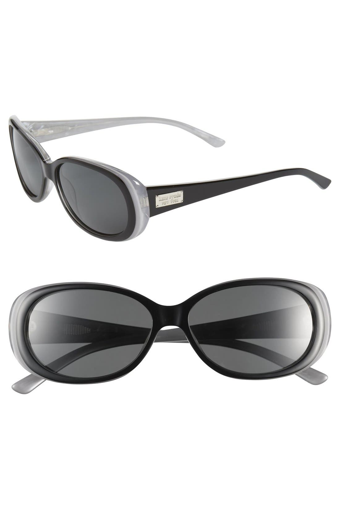 Main Image - kate spade new york 'sinclair' 55mm polarized sunglasses