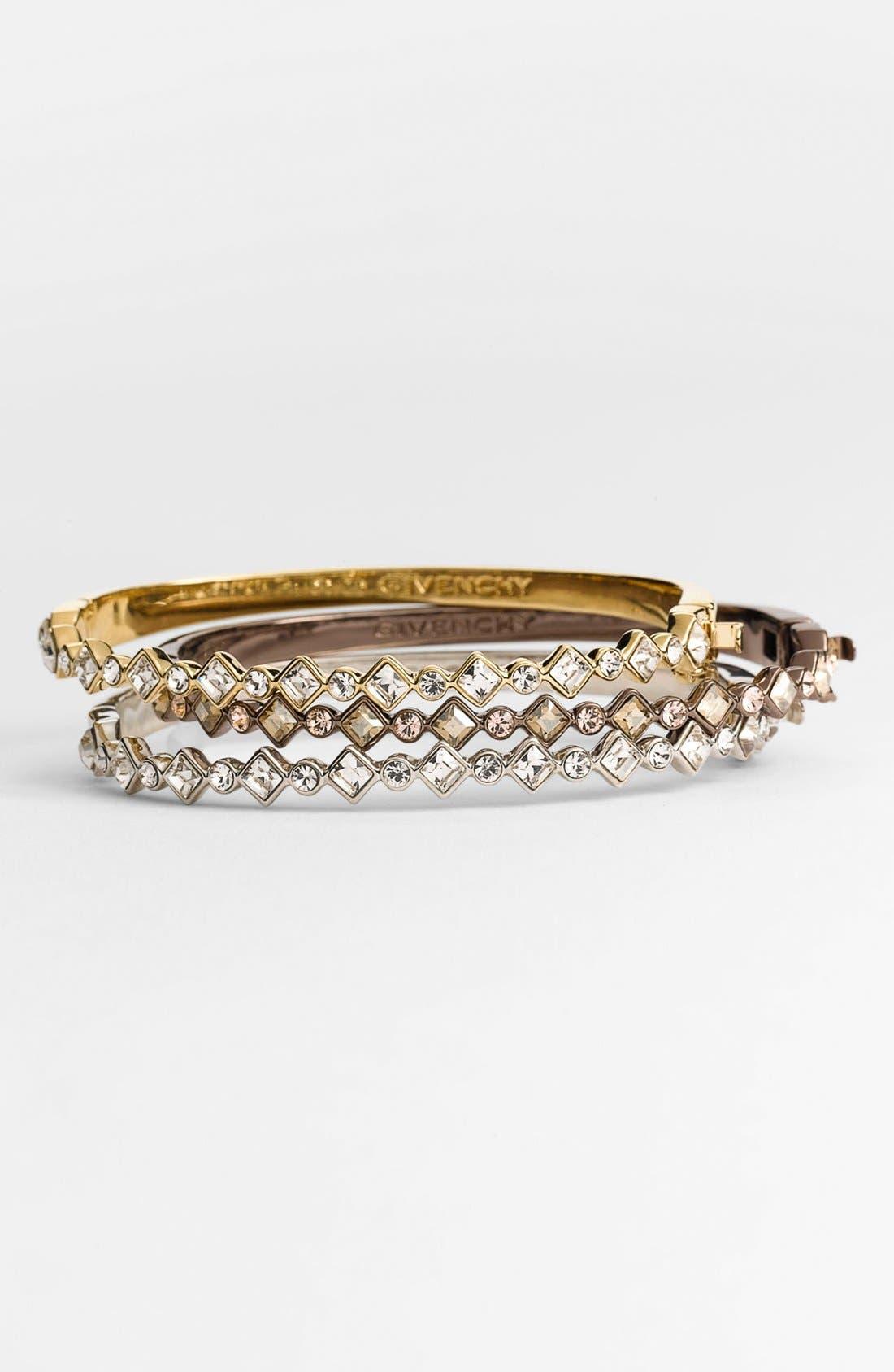 Alternate Image 2  - Givenchy Crystal Hinged Bangle