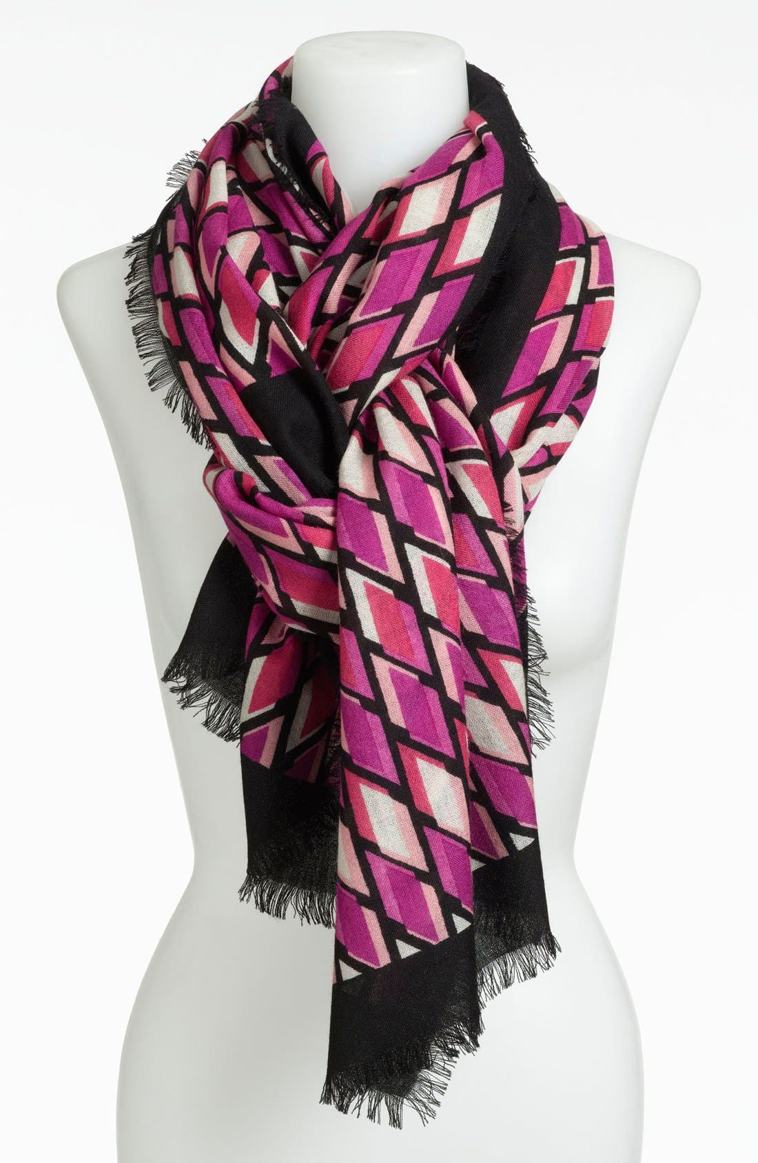 Alternate Image 1 Selected - Nordstrom Graphic Print Wool Scarf