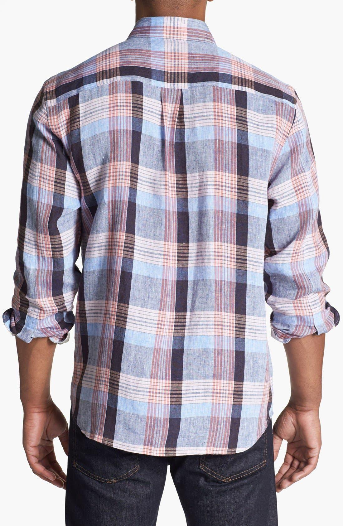 Alternate Image 2  - Tommy Bahama 'Grande' Regular Fit Linen Sport Shirt