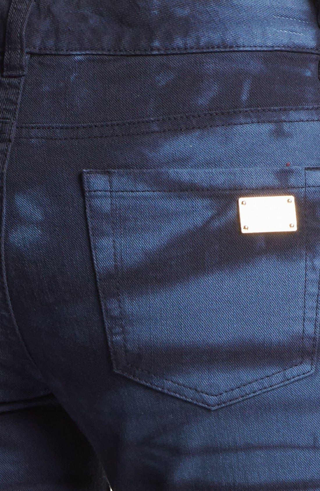 Alternate Image 3  - MICHAEL Michael Kors Tie Dye Print Jeans