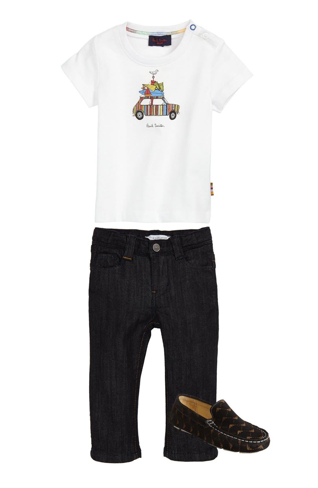 Alternate Image 2  - Paul Smith Junior 'Car' T-Shirt (Toddler)