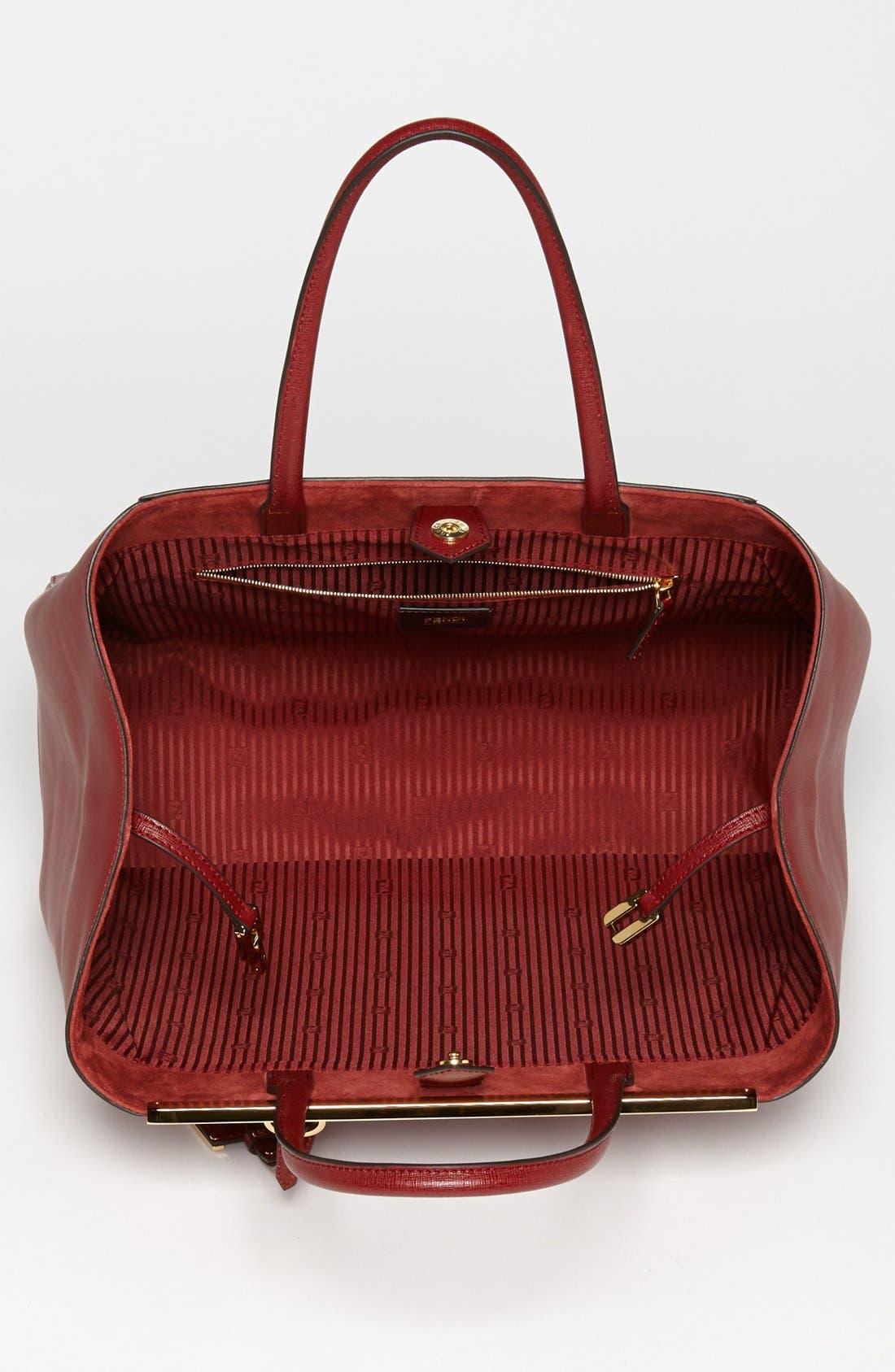 Alternate Image 3  - Fendi '2Jours Elite - Large' Leather Shopper