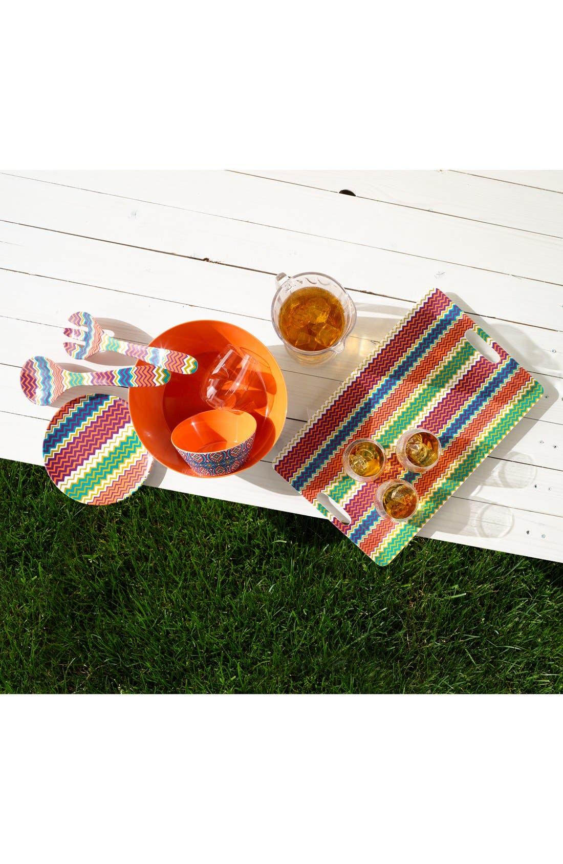 Alternate Image 3  - Magenta Dinner Plates (Set of 4)