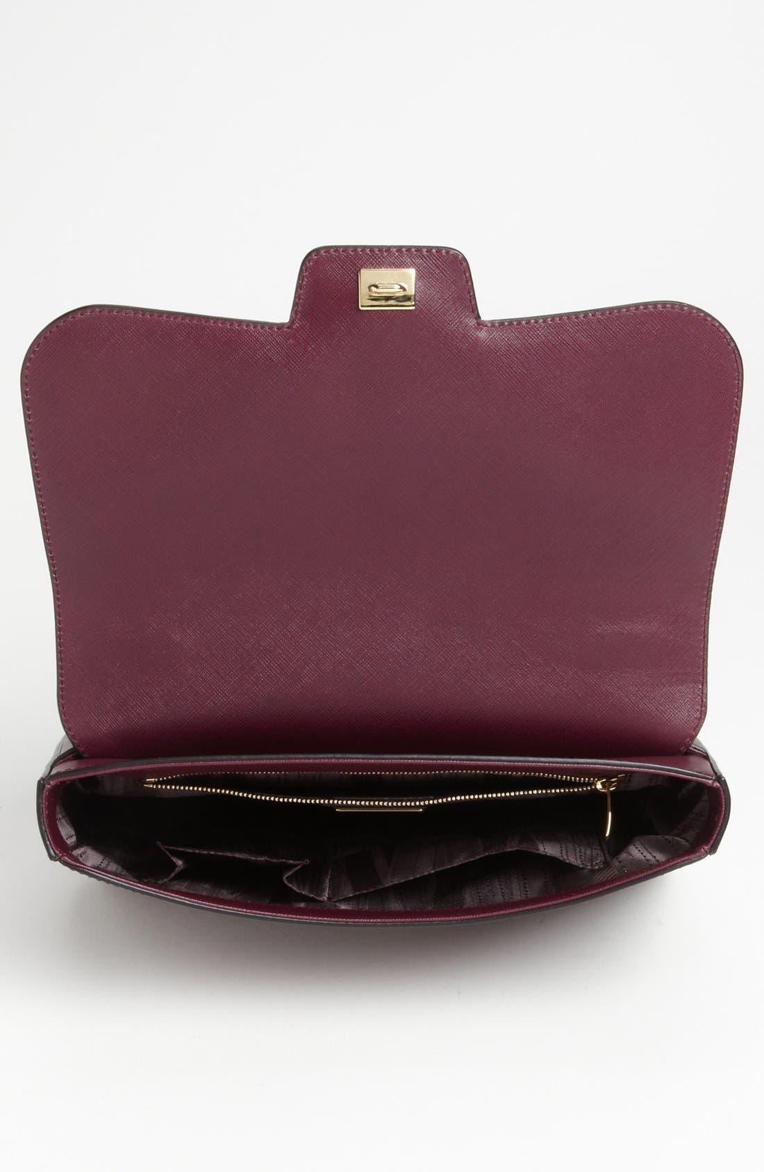 Alternate Image 3  - Salvatore Ferragamo 'Bree' Leather Shoulder Bag