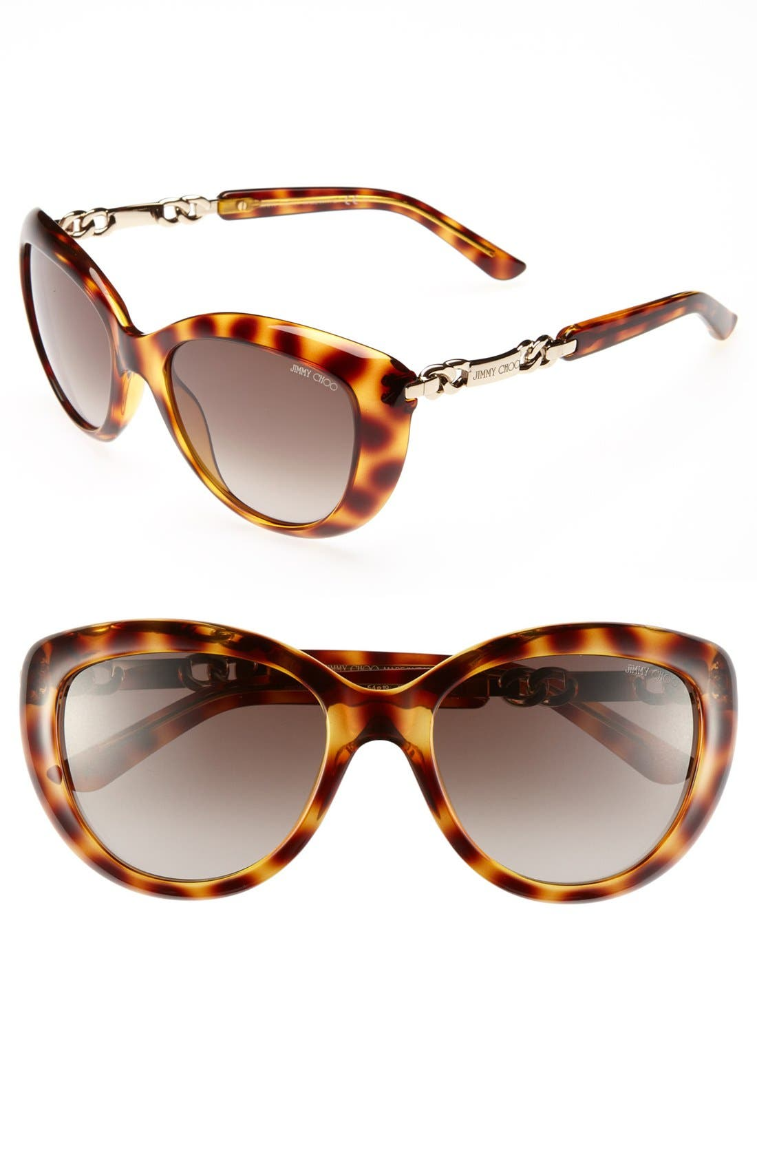 Alternate Image 1 Selected - Jimmy Choo 'Wigmore' 54mm Sunglasses