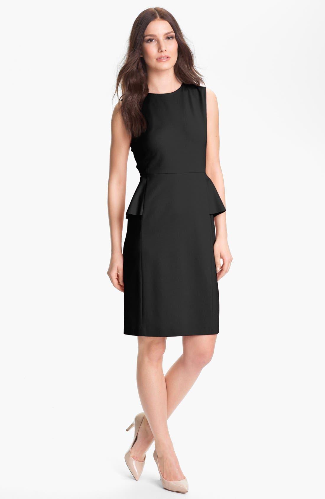Alternate Image 1  - Elie Tahari 'Judy' Jersey Dress