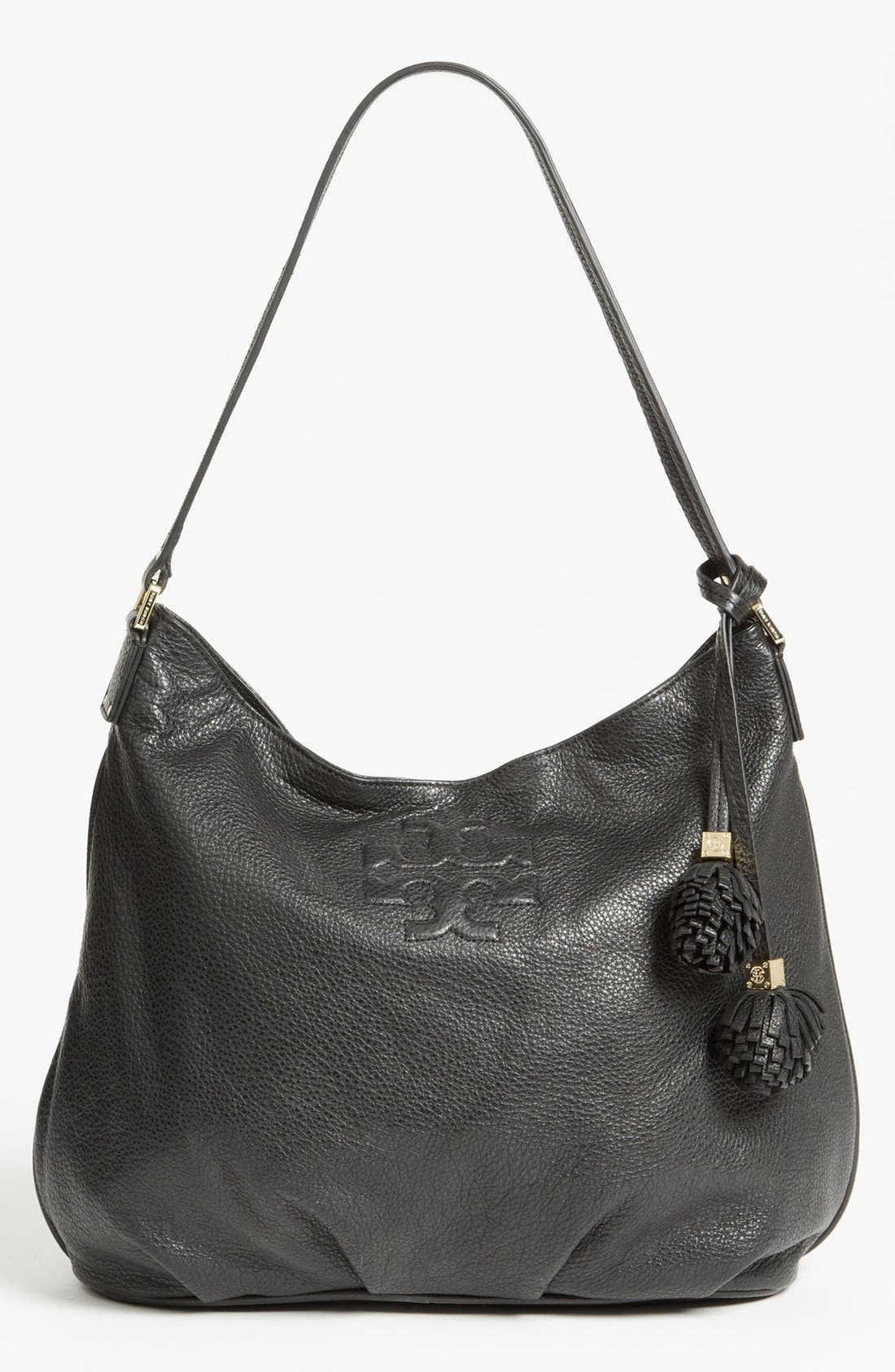 Alternate Image 1 Selected - Tory Burch 'Thea' Leather Hobo