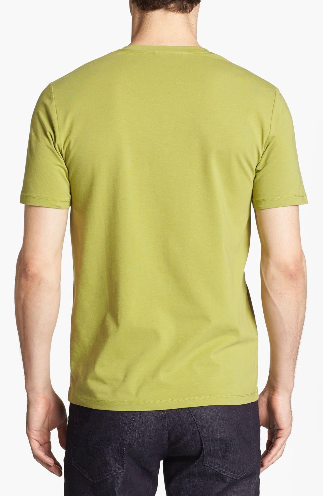 Alternate Image 2  - HUGO 'Dredoso' V-Neck T-Shirt