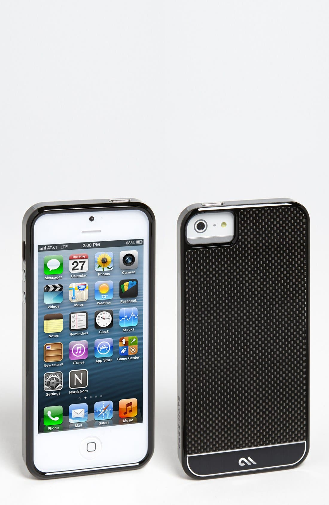 Alternate Image 1 Selected - Case-Mate® 'Refined Collection' Carbon Fiber iPhone 5 Case