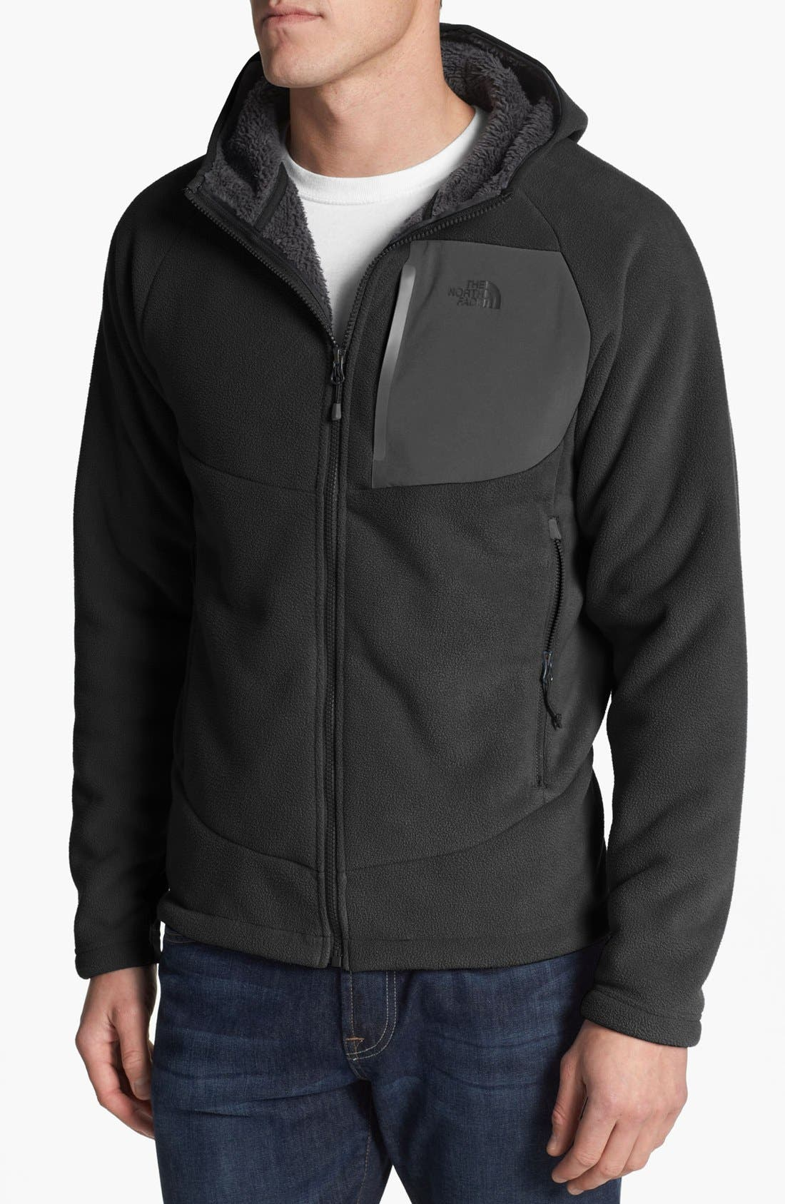 Alternate Image 1 Selected - The North Face 'Chimborazo' Fleece Hoodie