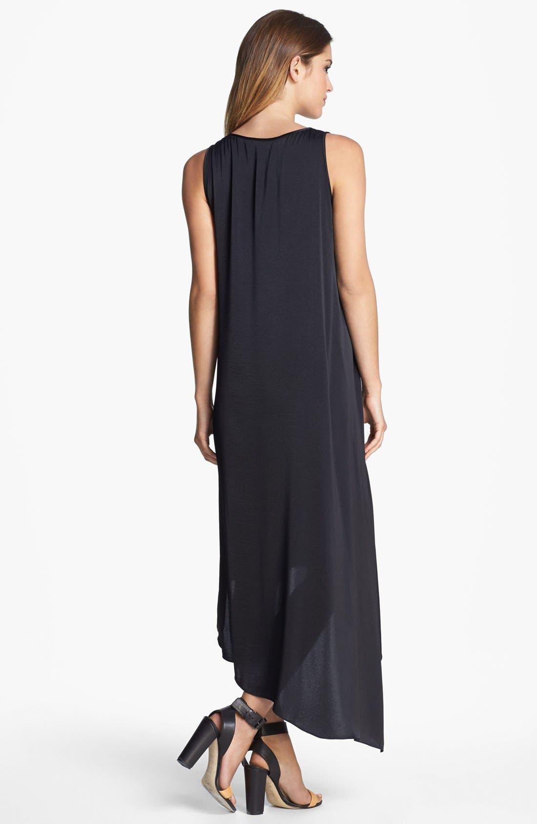 Alternate Image 2  - BCBGMAXAZRIA Tiered Asymmetrical Hem Dress