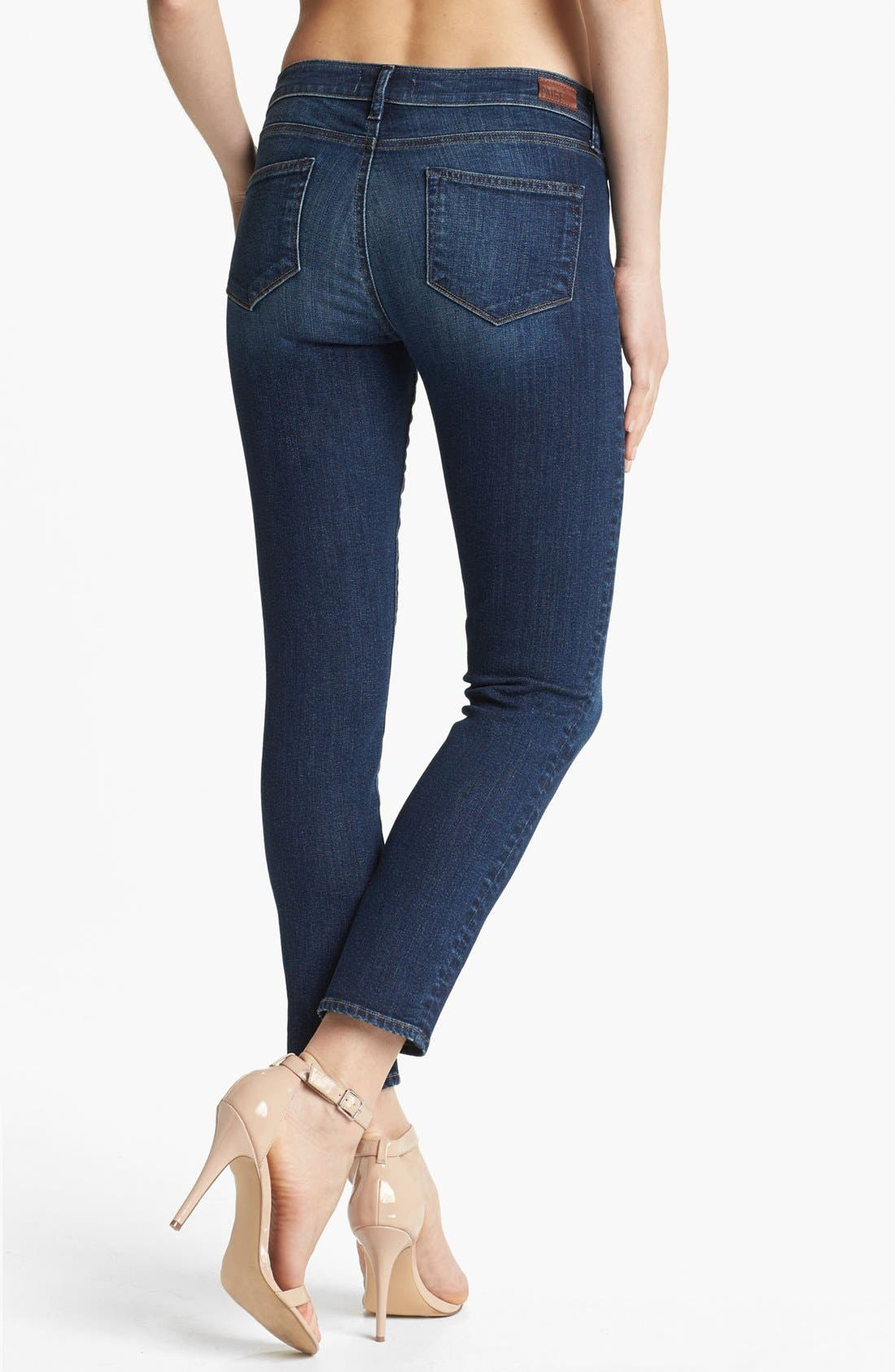Alternate Image 2  - Paige Denim 'Skyline' Ankle Jeans (Benny)