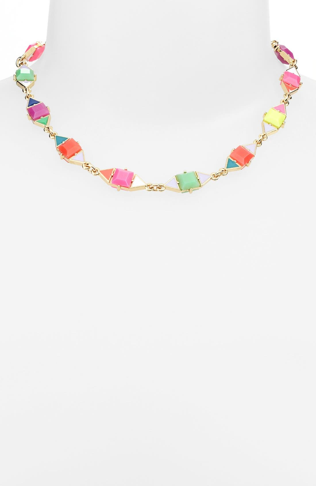 Alternate Image 2  - kate spade new york 'pueblo tiles' mix shape necklace