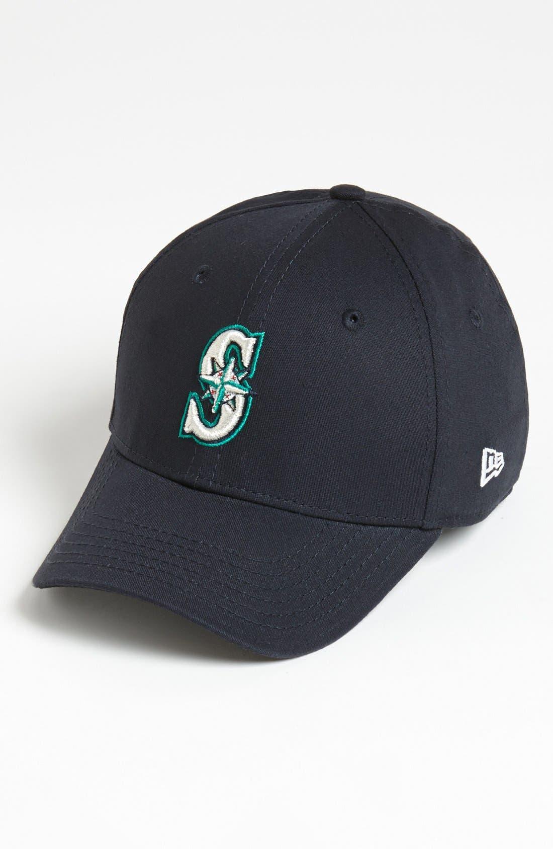 Main Image - New Era Cap 'Seattle Mariners - Tie Breaker' Baseball Cap (Big Boys)