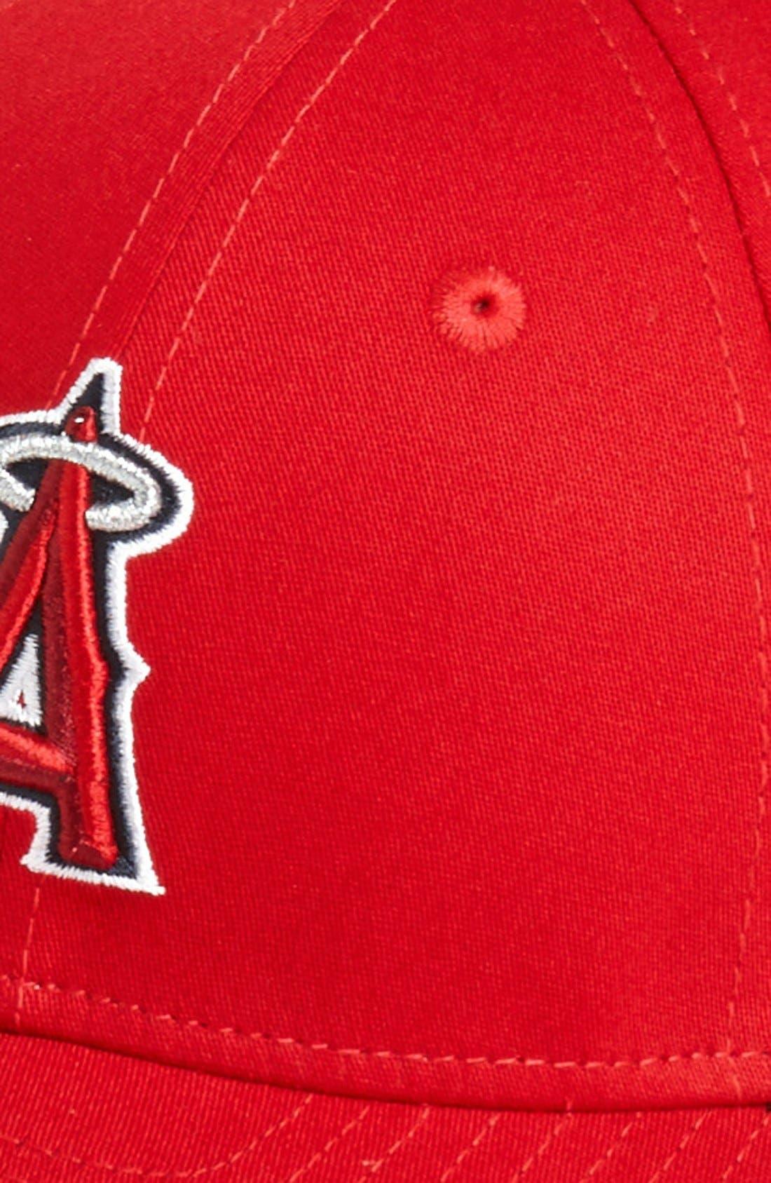 Alternate Image 2  - New Era Cap 'Los Angeles Angels of Anaheim - Tie Breaker' Baseball Cap (Big Boys)