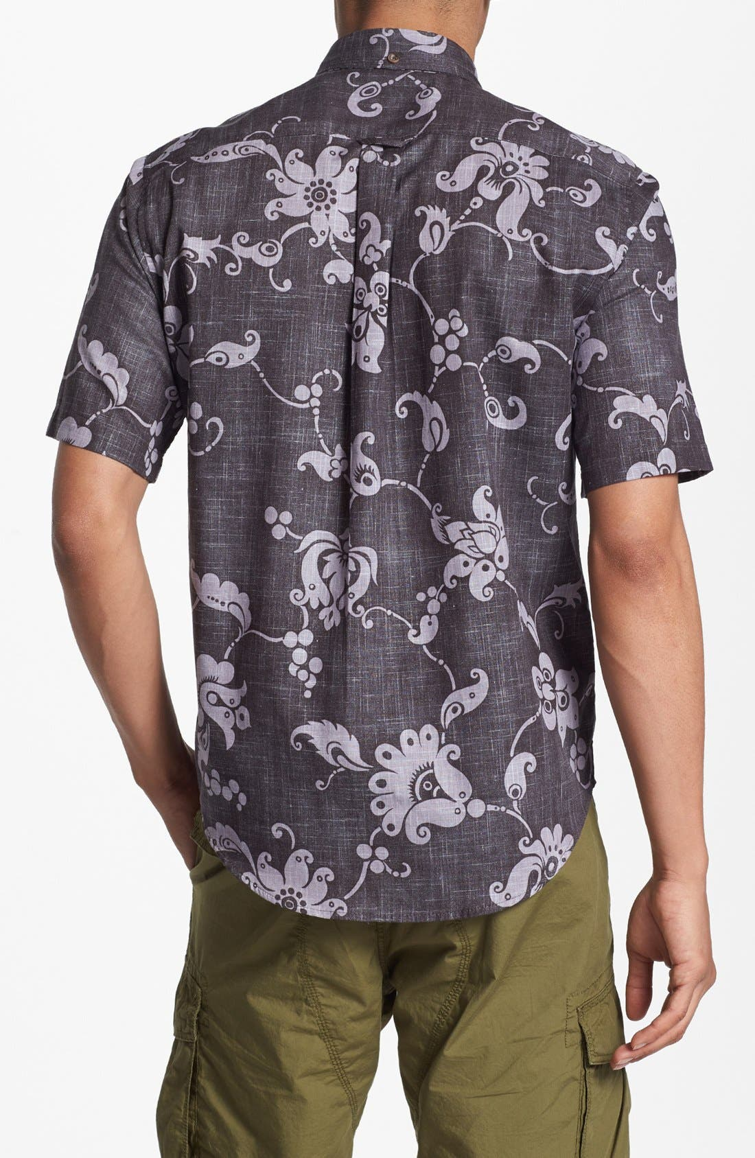 Alternate Image 3  - Reyn Spooner 'Aloha Pareau' Print Woven Shirt