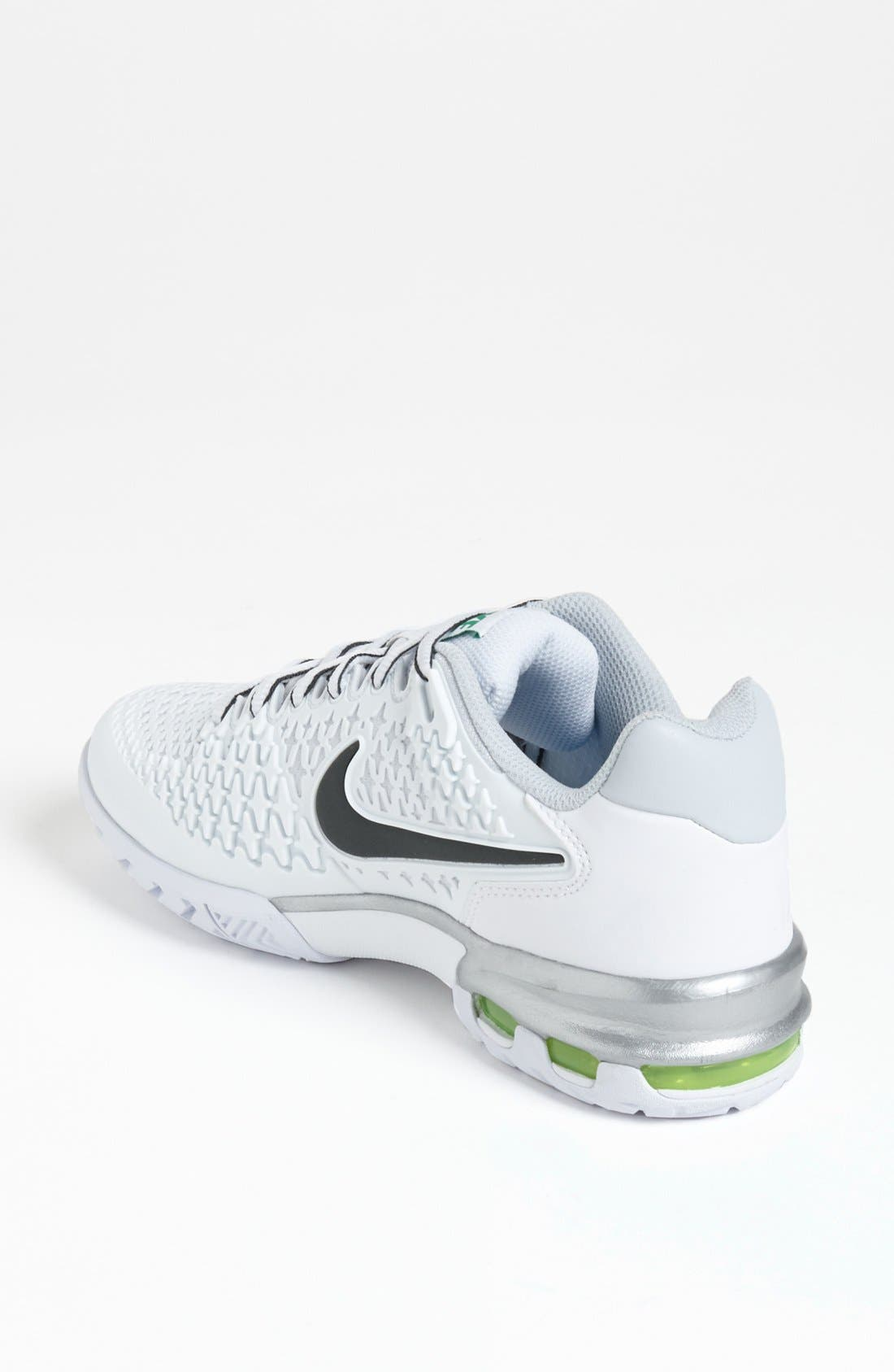 Alternate Image 2  - Nike 'Air Max Cage' Tennis Shoe (Women) (Regular Retail Price: $115.00)