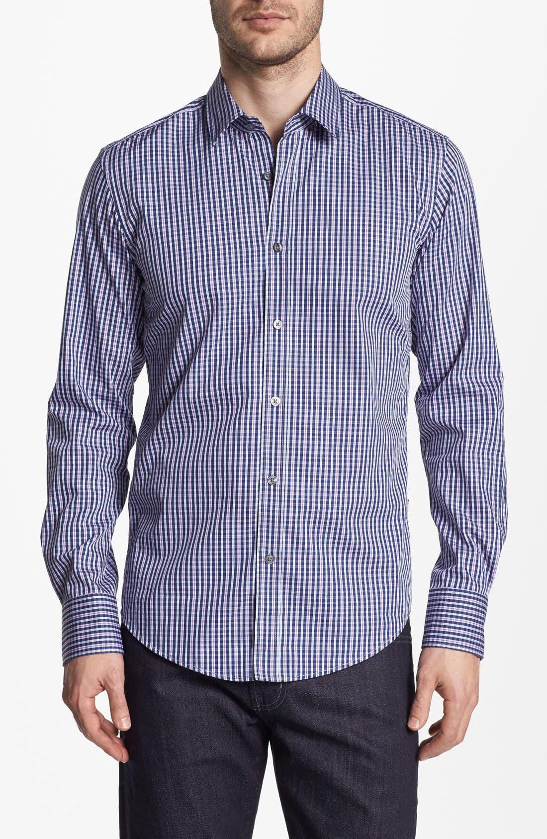 Main Image - BOSS HUGO BOSS 'Ronny' Slim Fit Sport Shirt