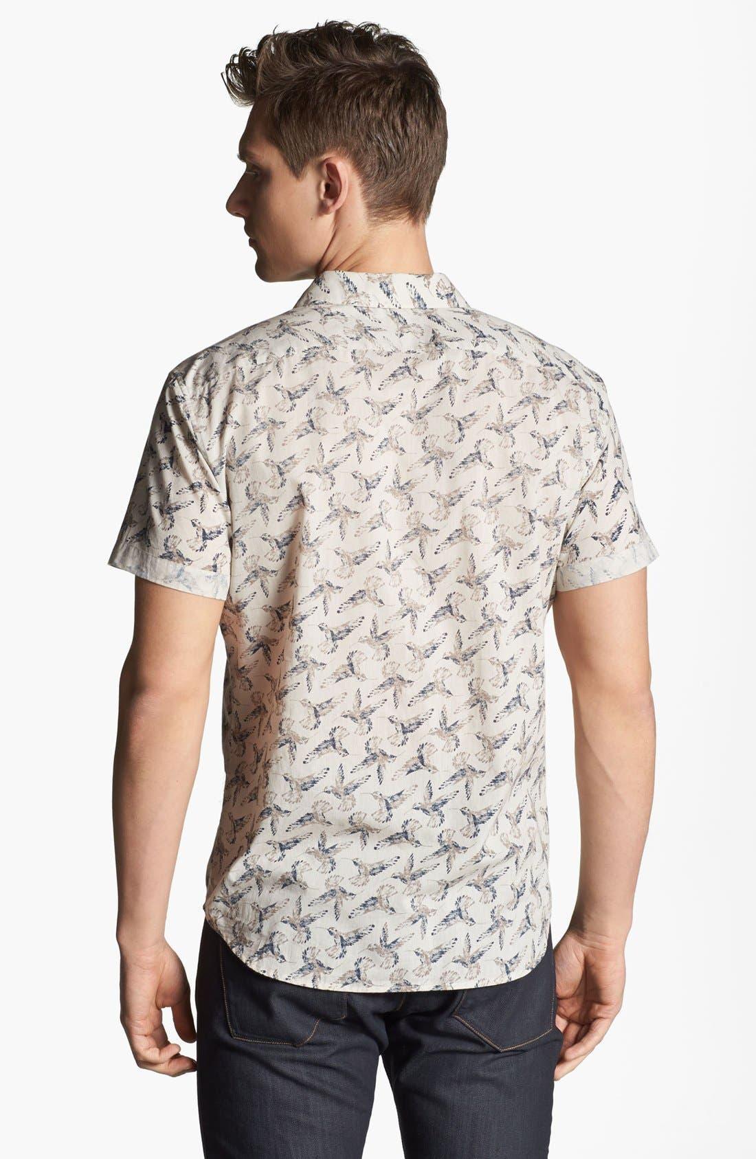Alternate Image 2  - Theory 'Ludwyk' Short Sleeve Sport Shirt