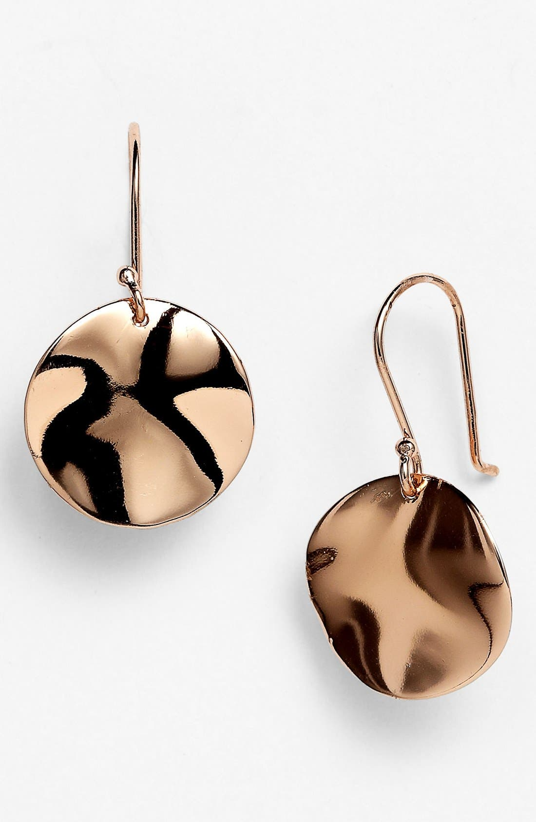 Alternate Image 1 Selected - Ippolita 'Carino' Rosé Wavy Drop Earrings