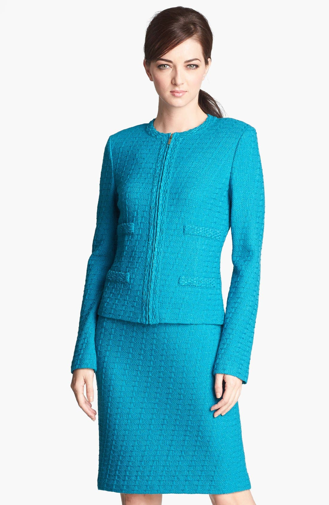 Alternate Image 1 Selected - St. John Collection Box Knit Jacket