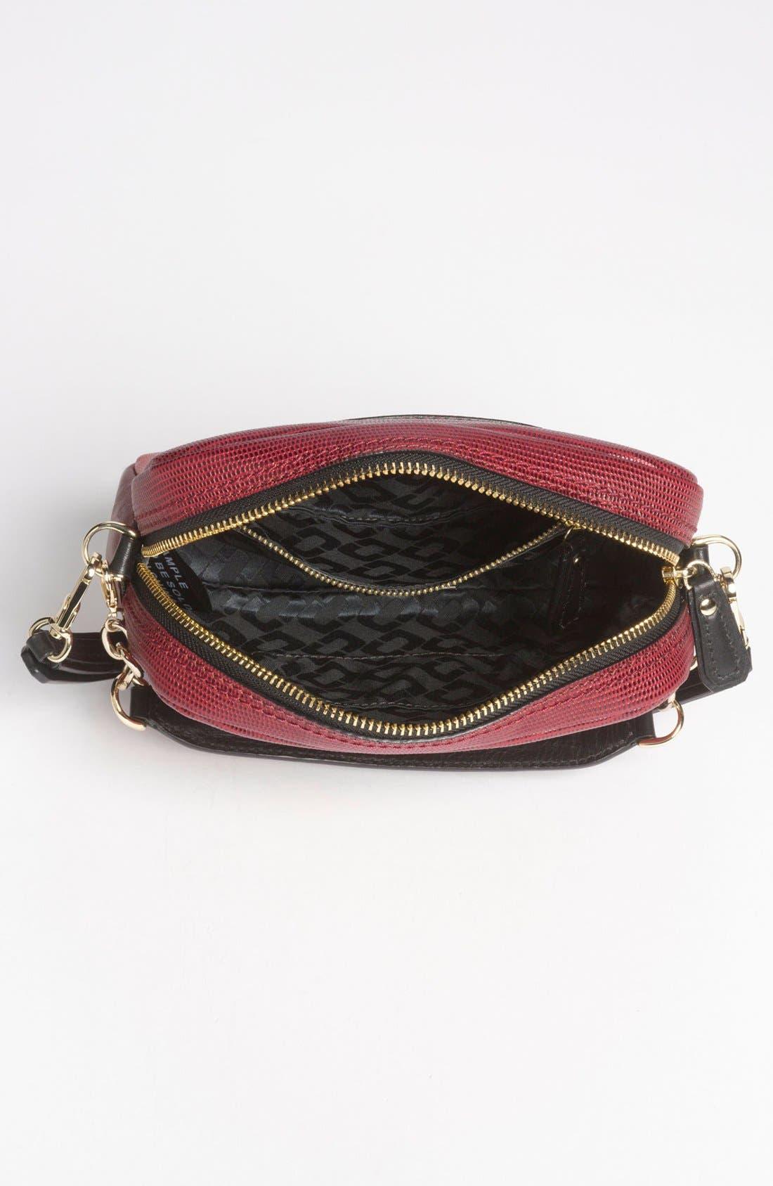 Alternate Image 3  - Diane von Furstenberg 'Milo - Mini' Lizard Embossed Crossbody Bag (Online Only)