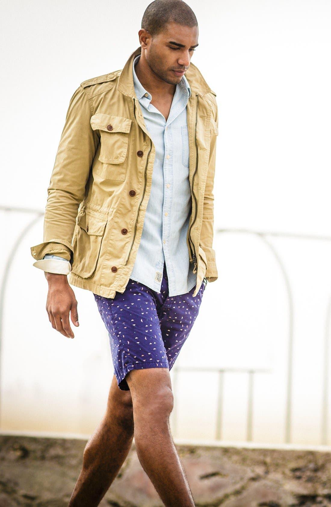 Alternate Image 4  - French Connection 'Potoroo' Shorts
