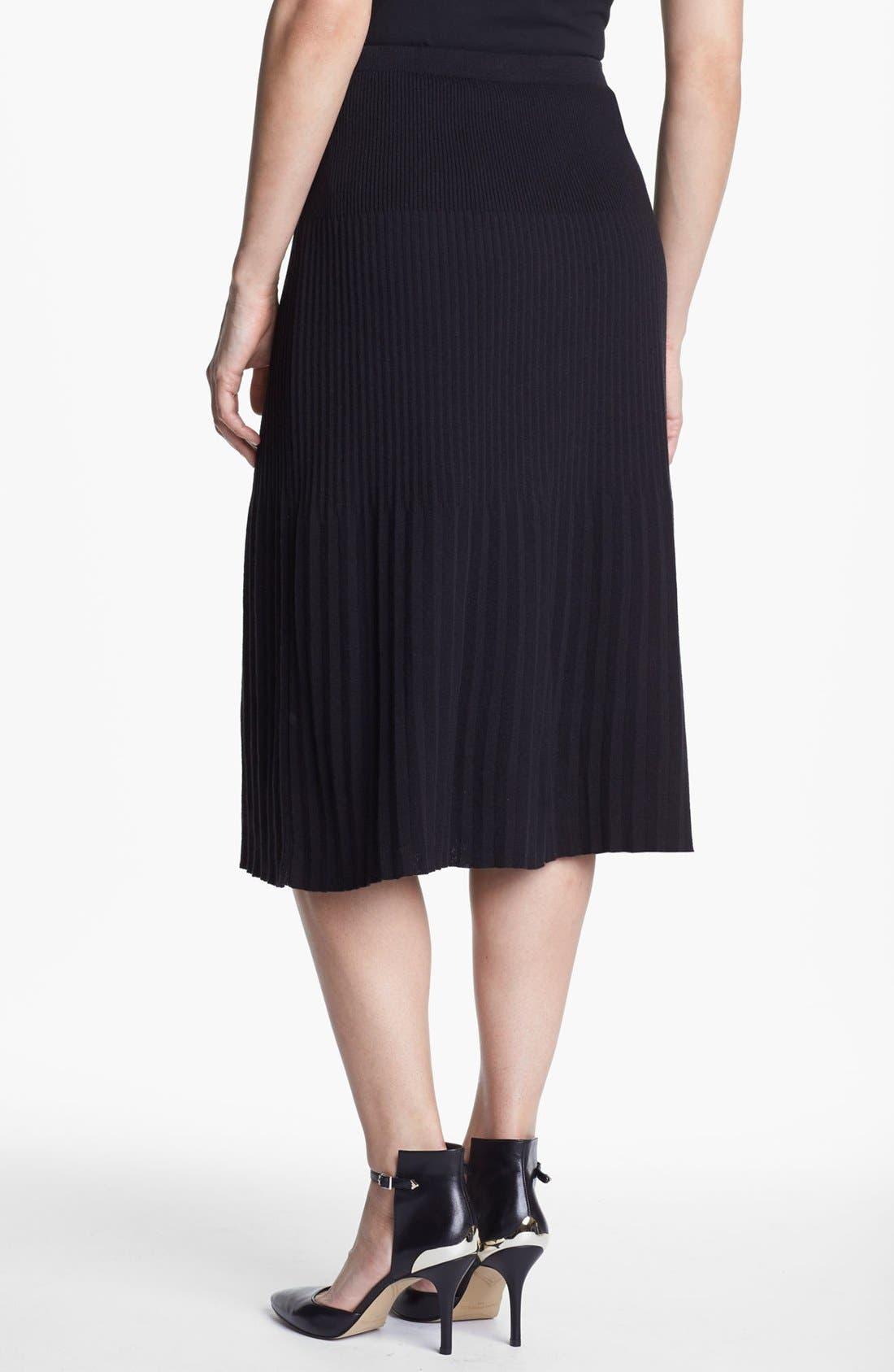 Alternate Image 3  - Nic + Zoe Pleated Knit Skirt