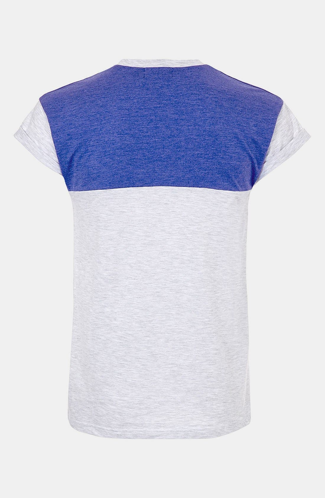Alternate Image 2  - Topman 'Cut & Sew' T-Shirt