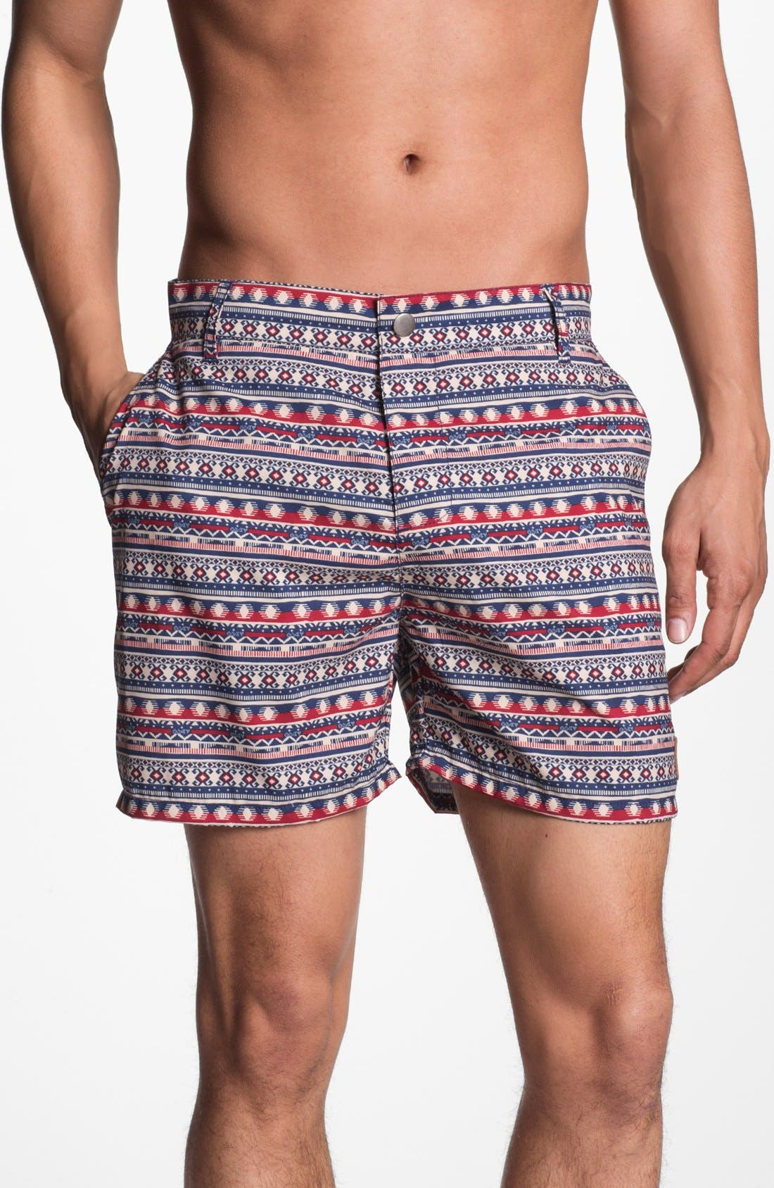 Alternate Image 1 Selected - Obey 'Marrakesh' Swim Shorts