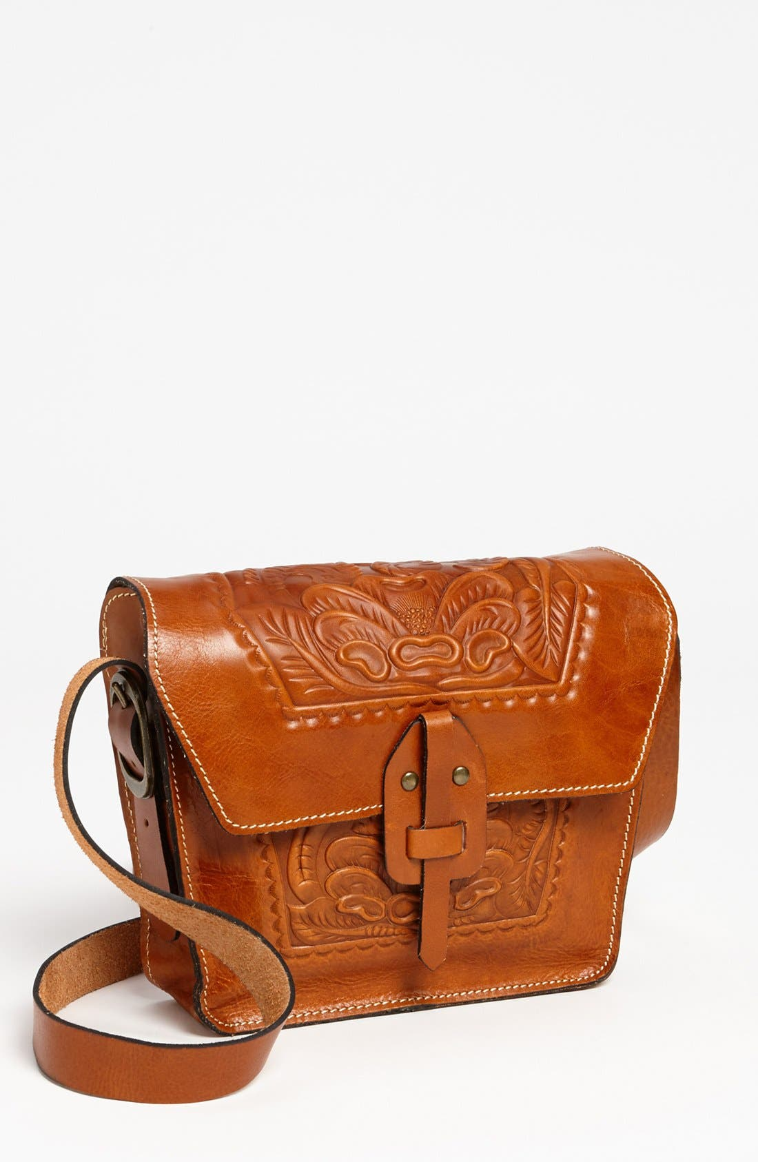 Alternate Image 1 Selected - Patricia Nash 'Marciano' Leather Crossbody Bag