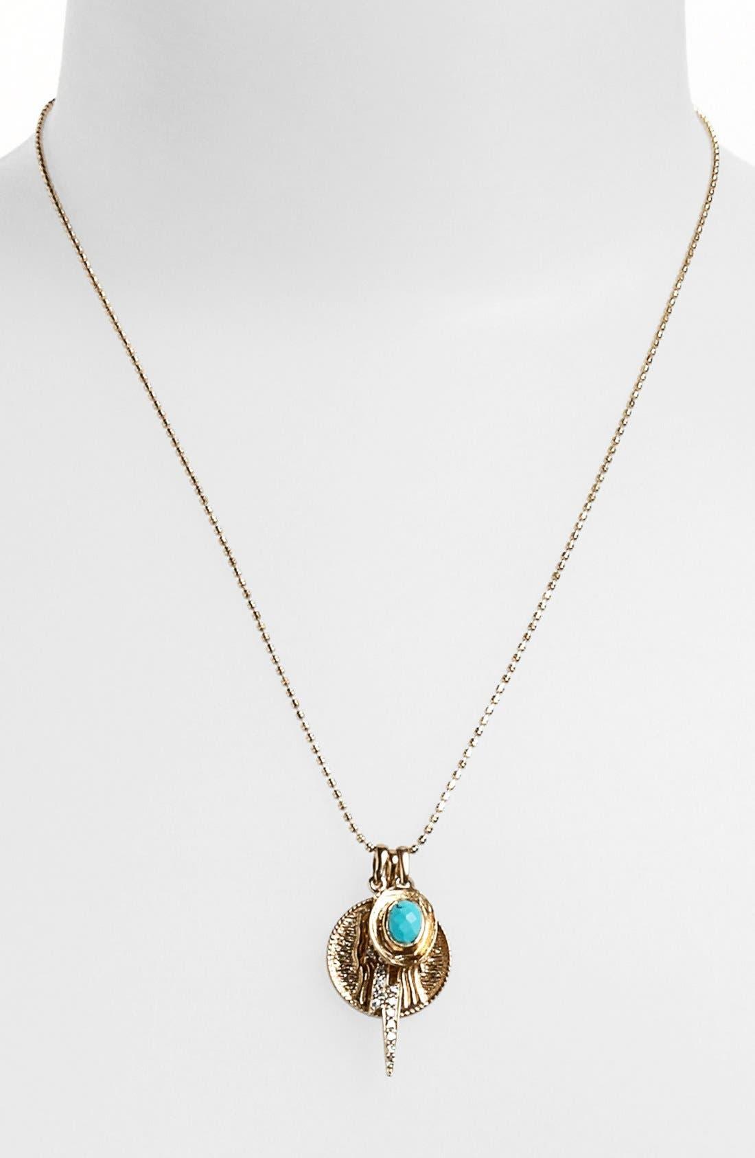 Alternate Image 3  - Melinda Maria 'Goddess of Sisterhood' Cluster Pendant Necklace