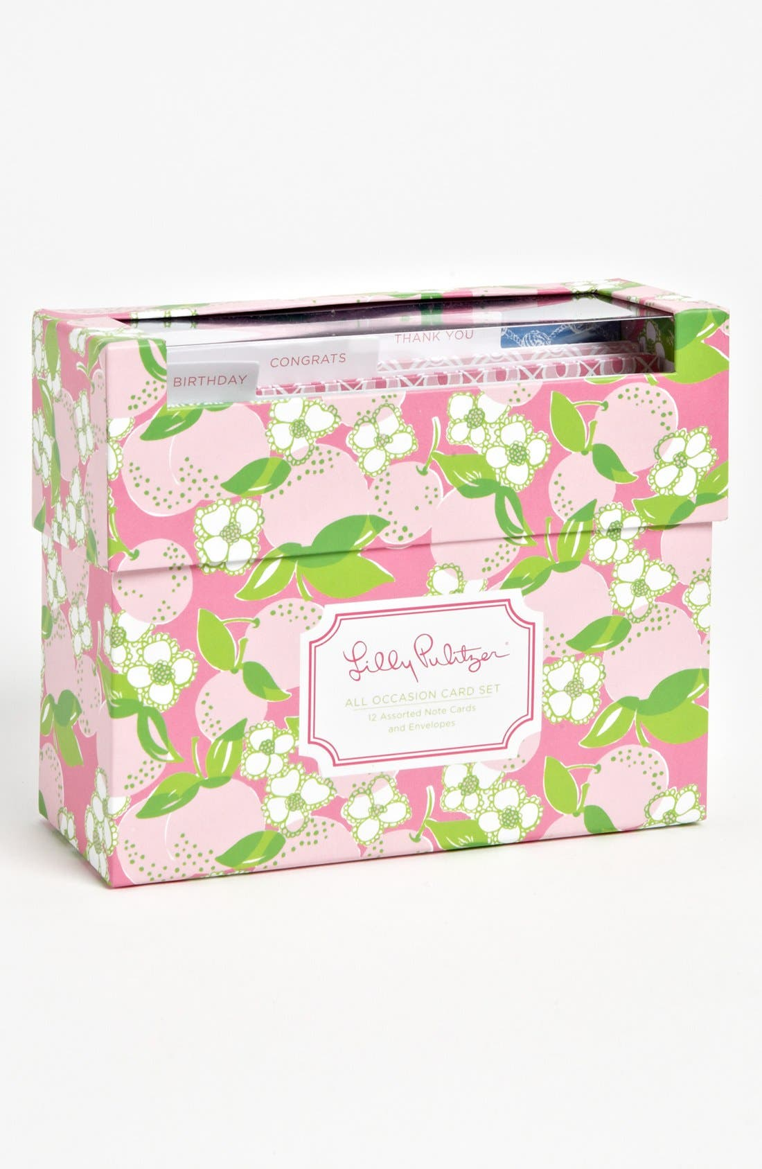 Alternate Image 2  - Lilly Pulitzer® Printed All Occasion Note Cards (Set of 12)