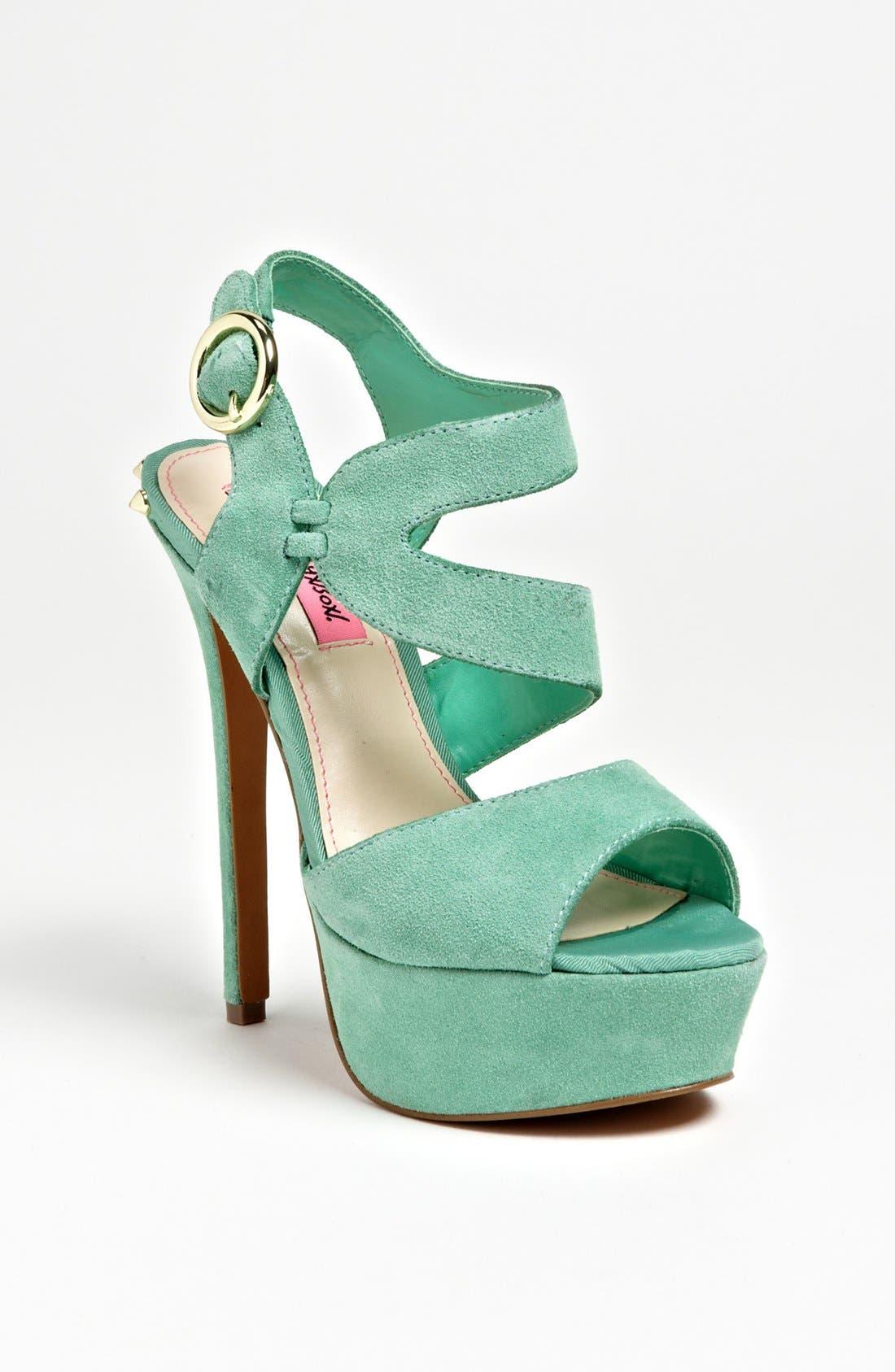 Alternate Image 1 Selected - Betsey Johnson 'Endall' Sandal