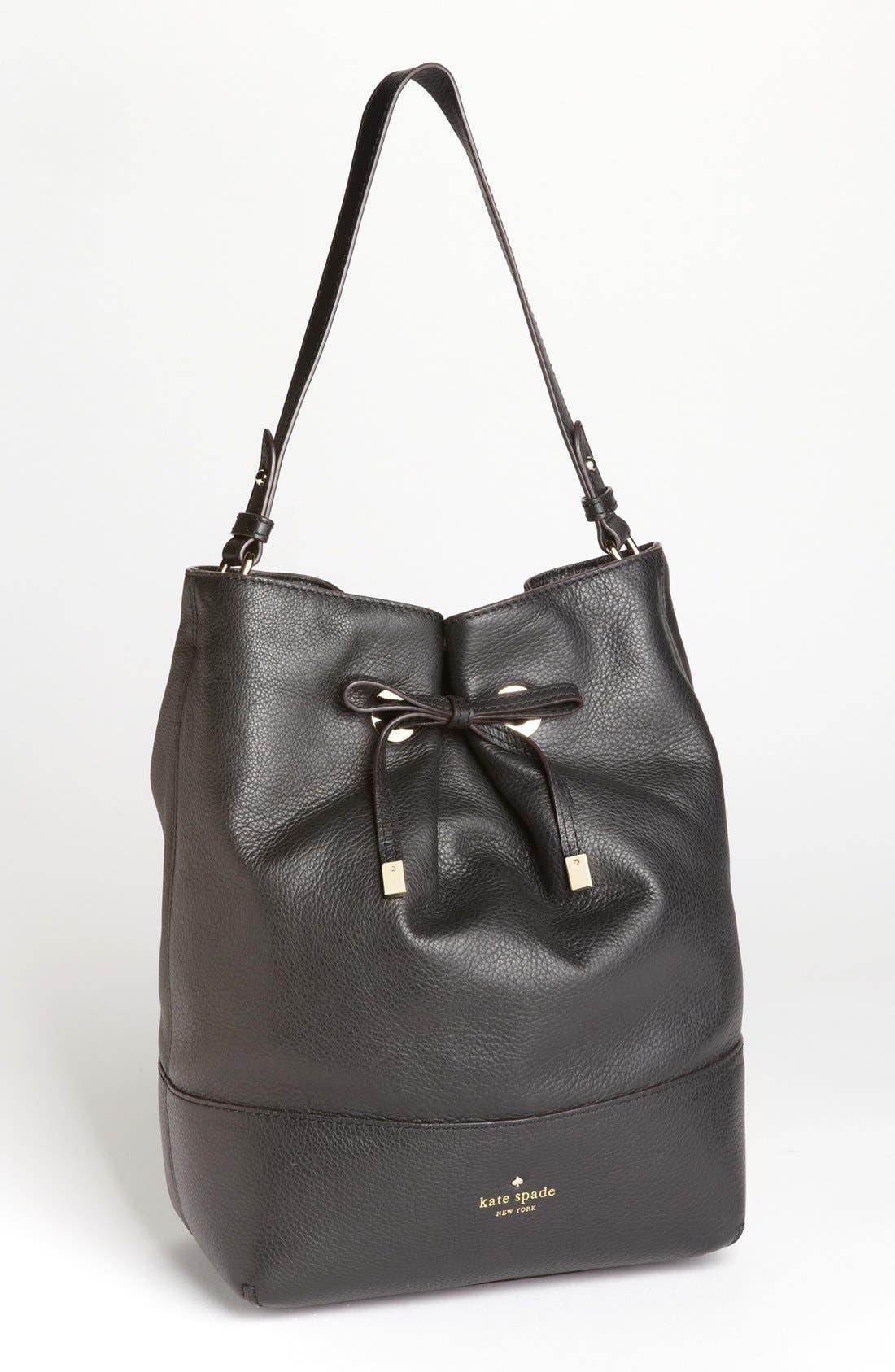 Alternate Image 1 Selected - kate spade new york 'west valley - valentine' leather bucket bag